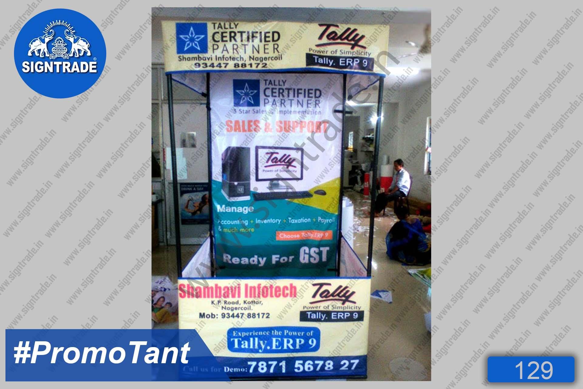 Shambhavi Infotech - Canopy Tent, Flat Roof Tent