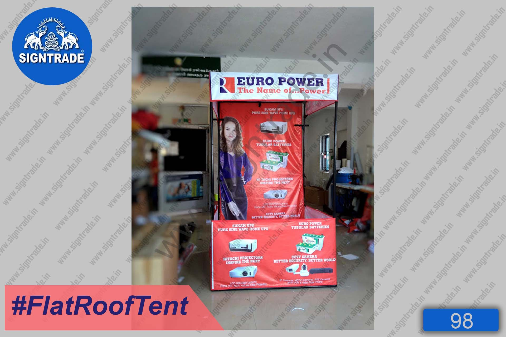 Euro Power - Canopy Tent