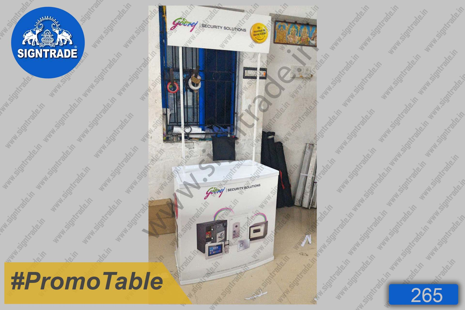Godrej Security Solutions - Promotional Table
