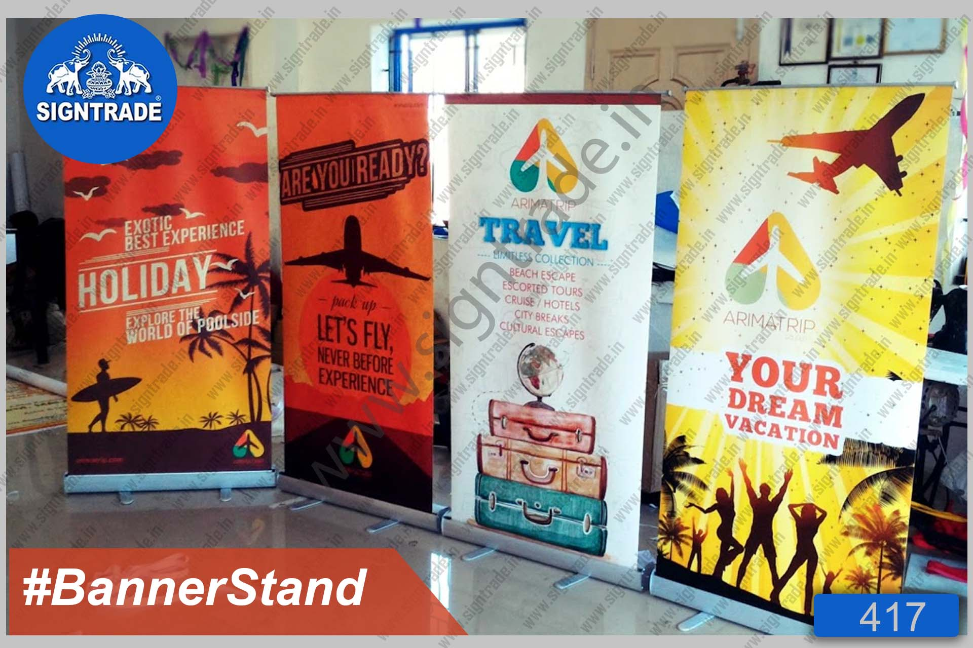 Travel - Roll Up Banner Stand