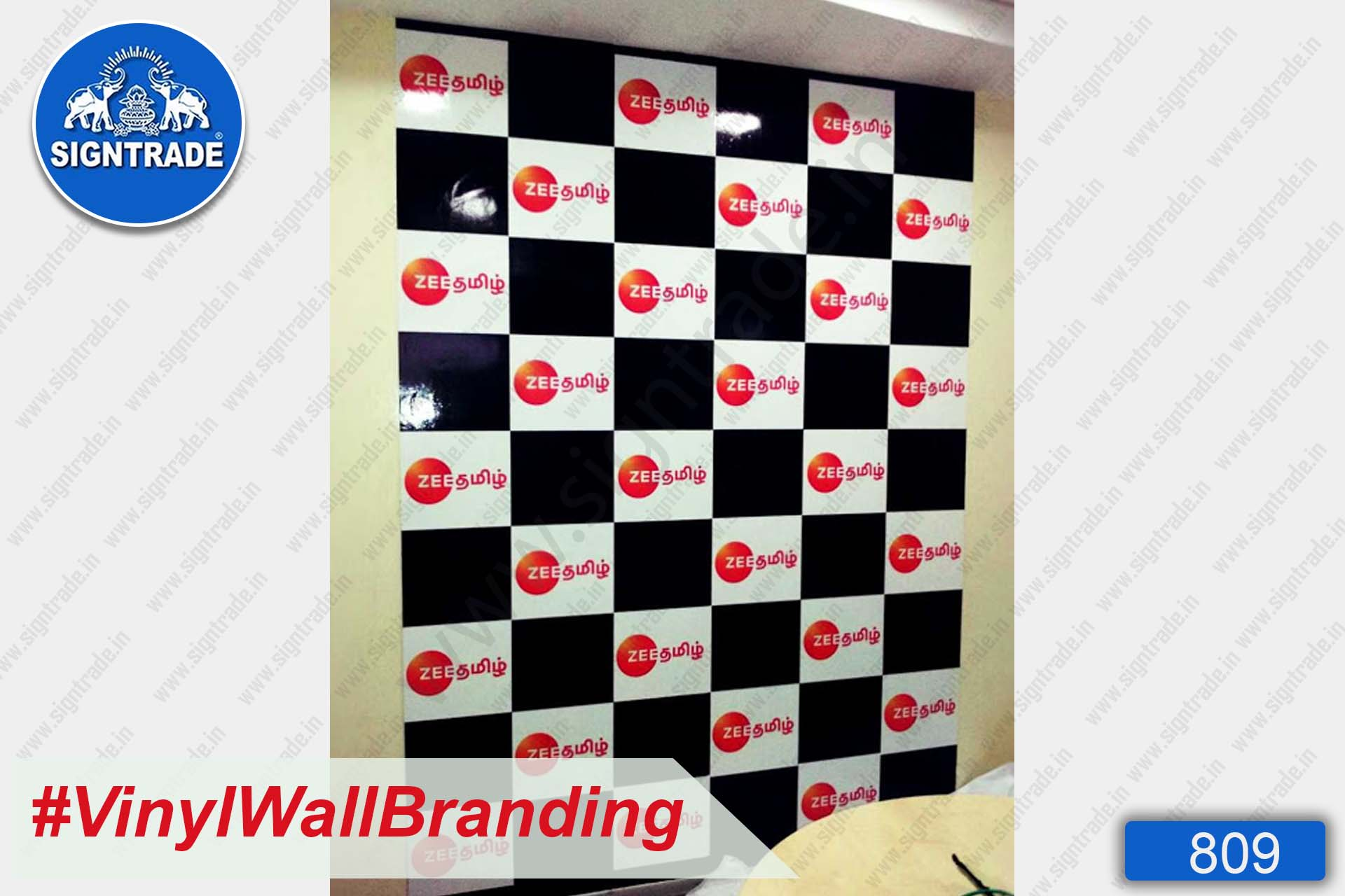 Wall Graphics - Zee Tamil Entertainment