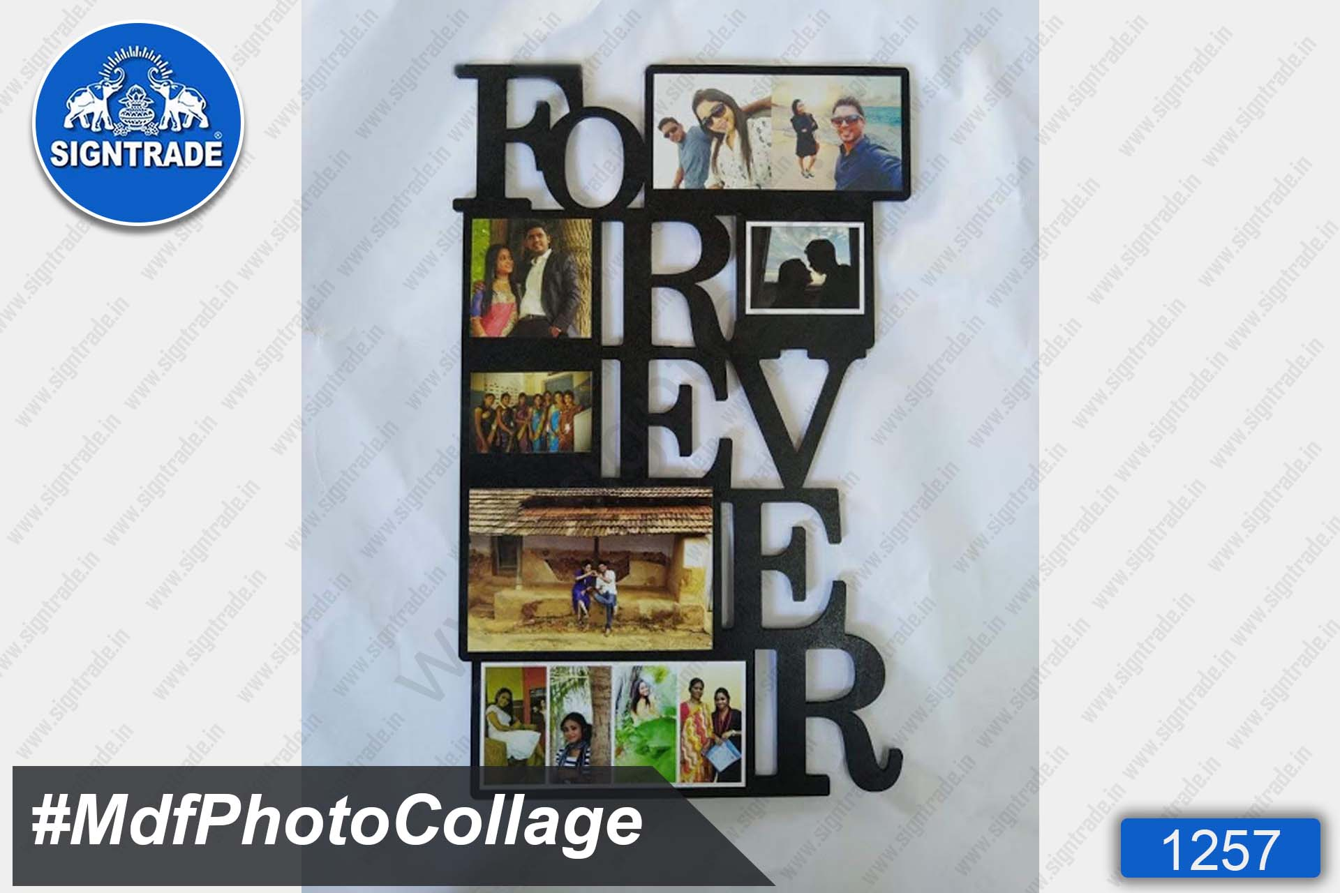 Forever MDF Photo Collage