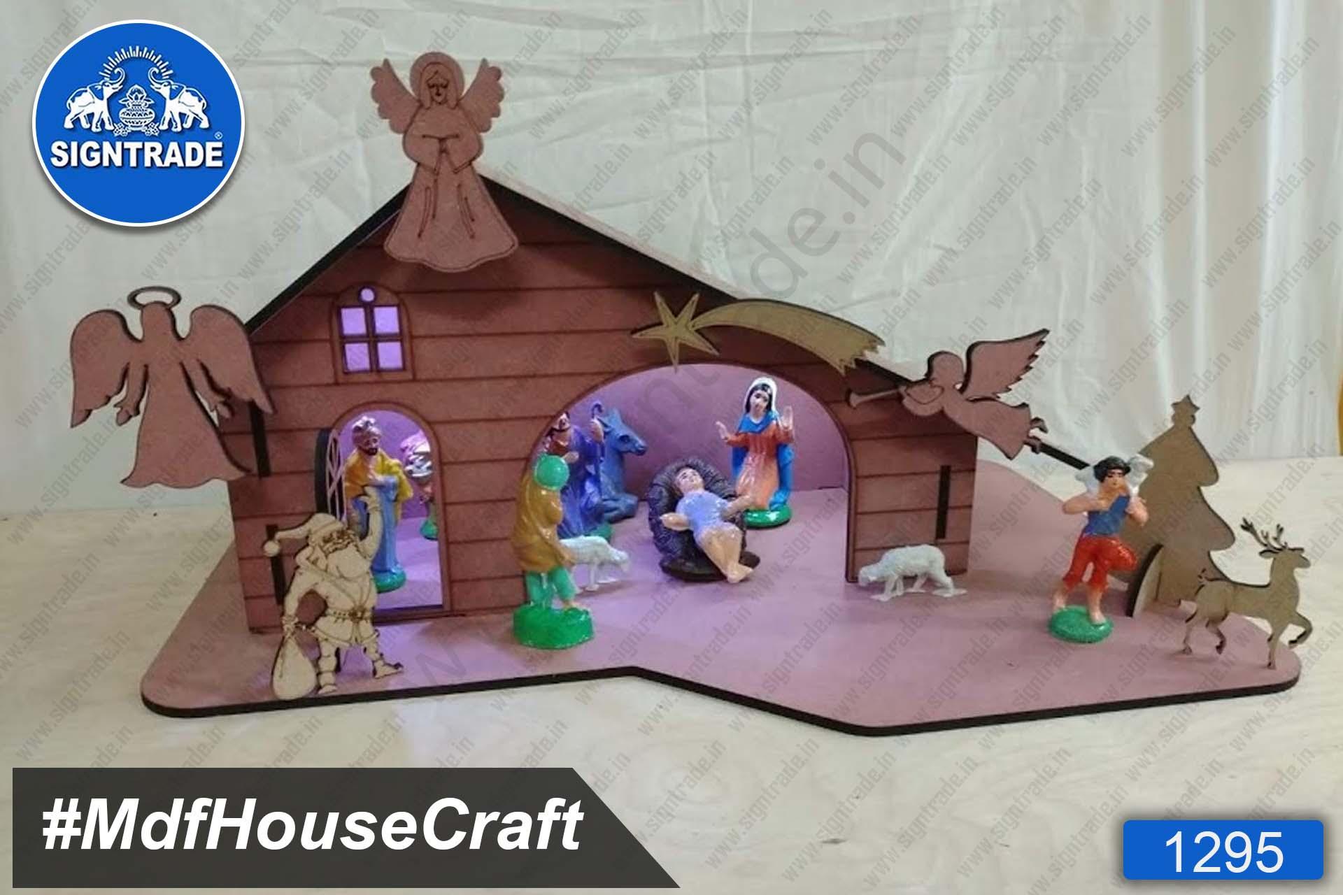 MDF House Craft