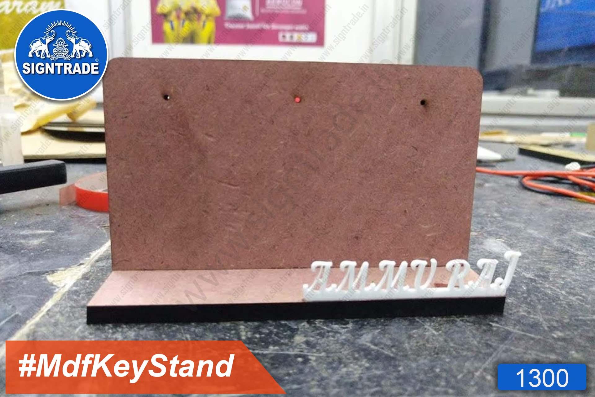 MDF Keychain Stand (Ammu Raj)
