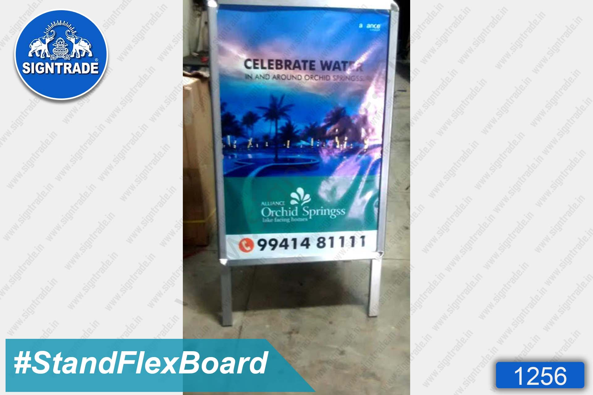 stand up flex board