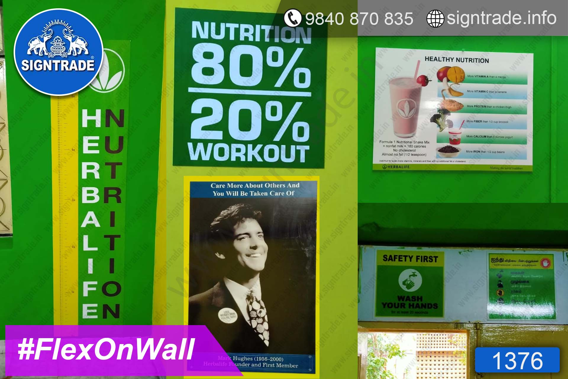 Physiotherapy Clinic - Chennai - SIGNTRADE - Wall Graphics - Digital Printing Services in Chennai