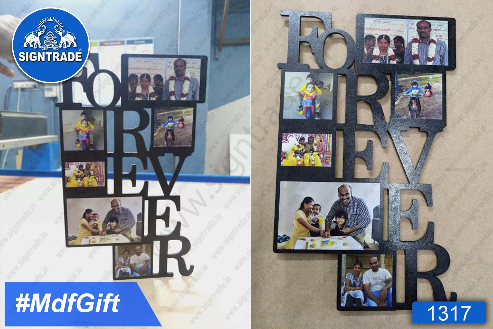 MDF Photo Collage (Forever)