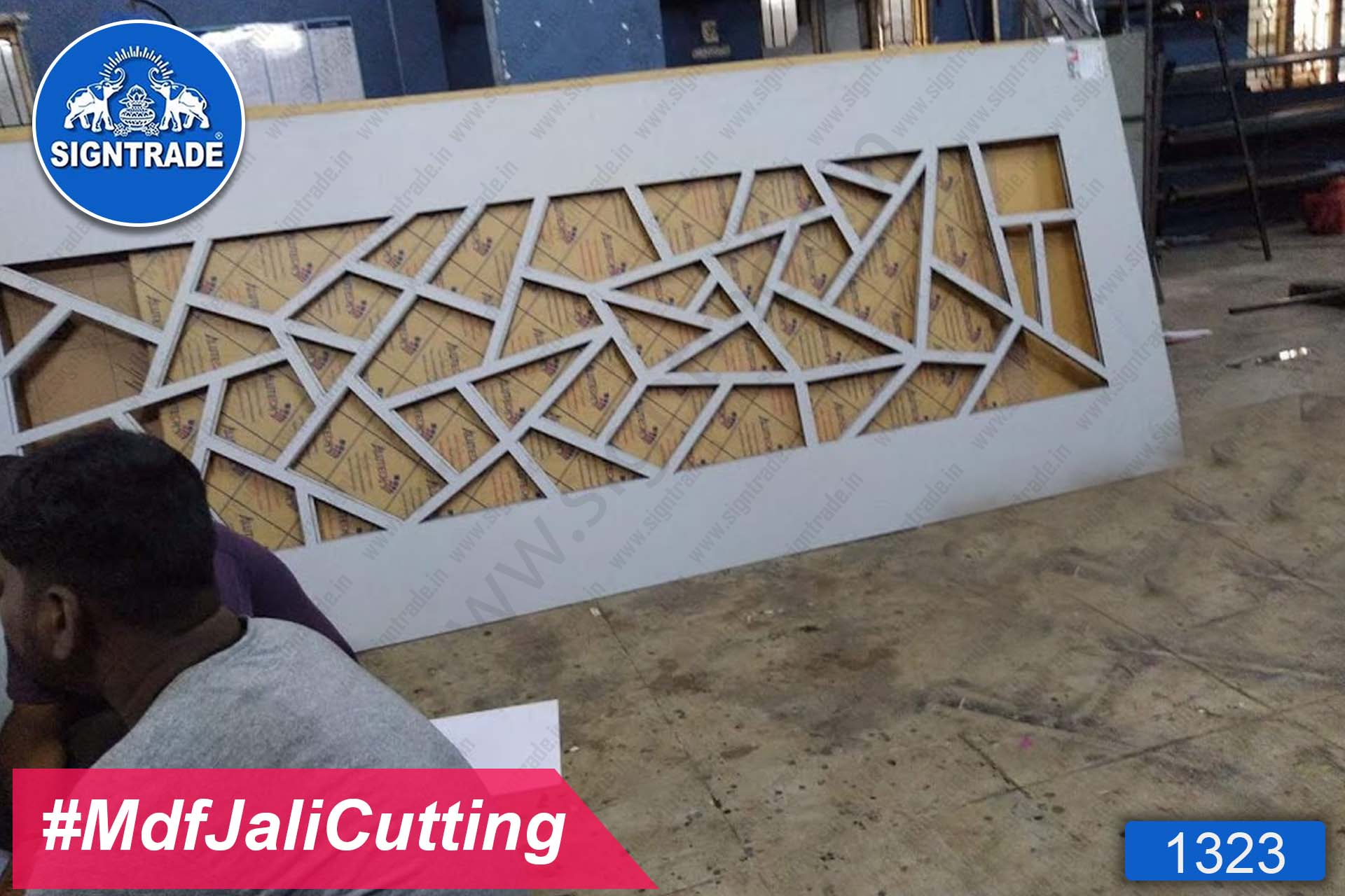MDF Jali Cutting for Door