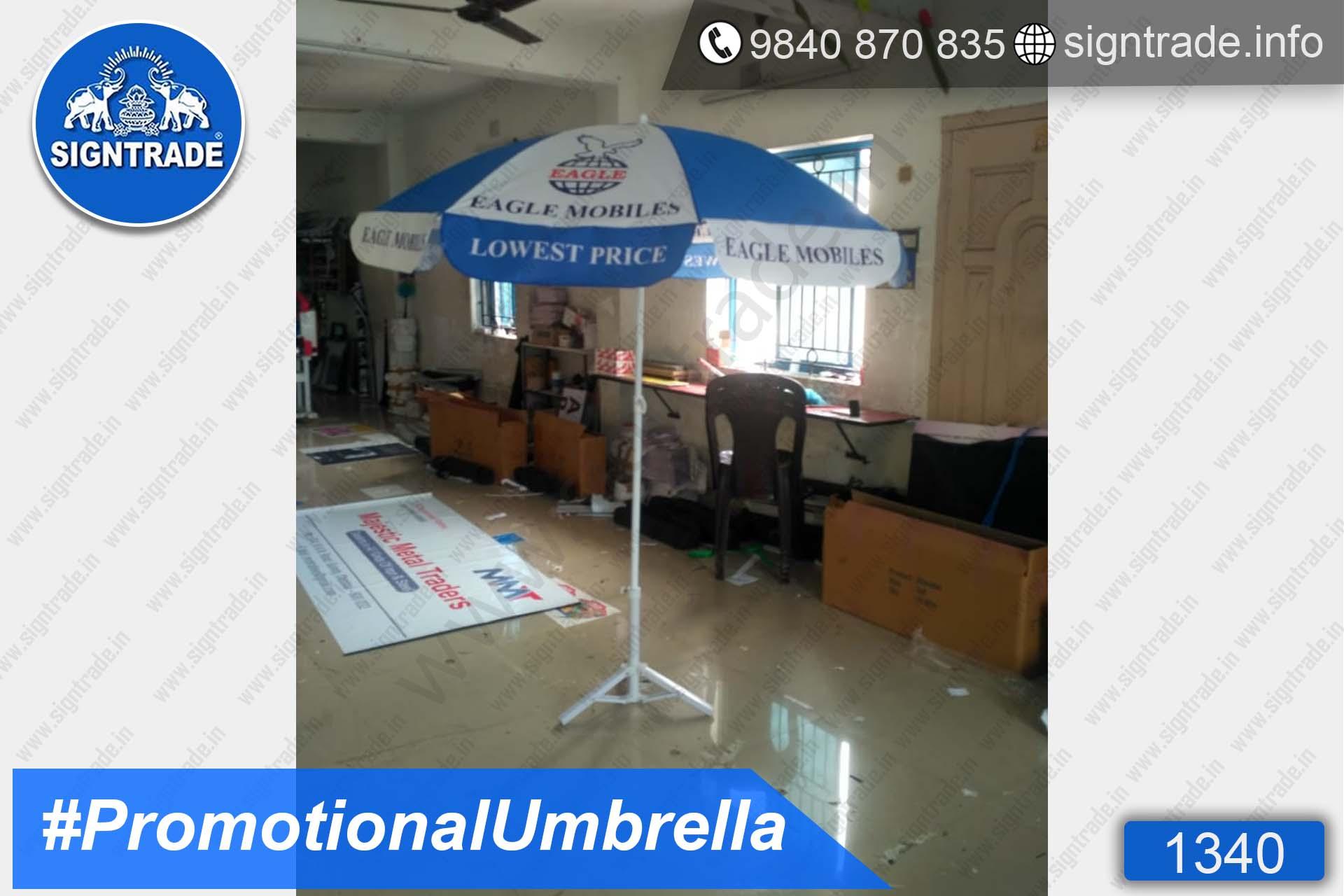 Eagle Mobiles - Promotional Umbrella - Chennai