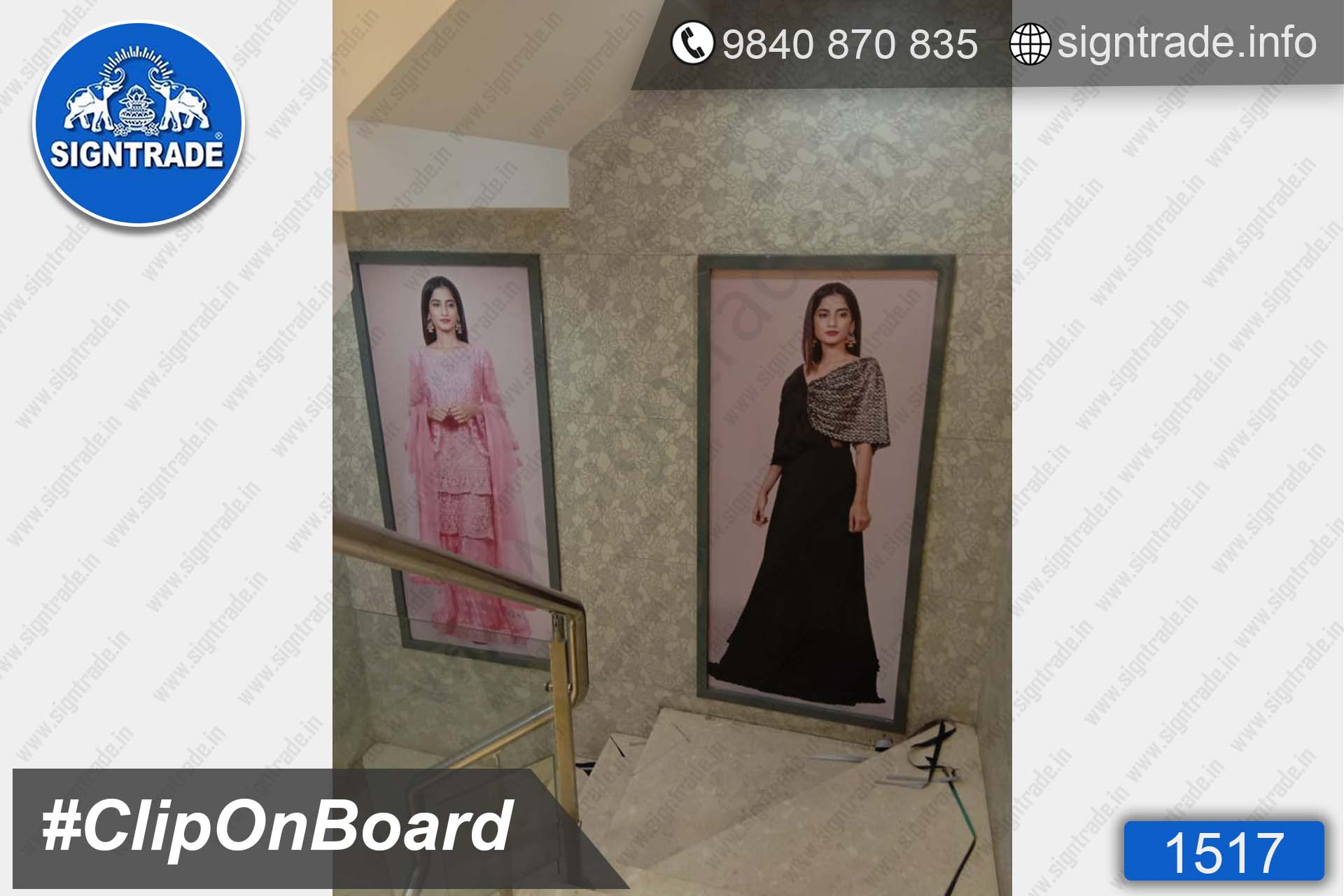 Kay The Fashion Bay, Mount Road, Chennai - SIGNTRADE - Customised Clip On Board Manufacturers in Chennai