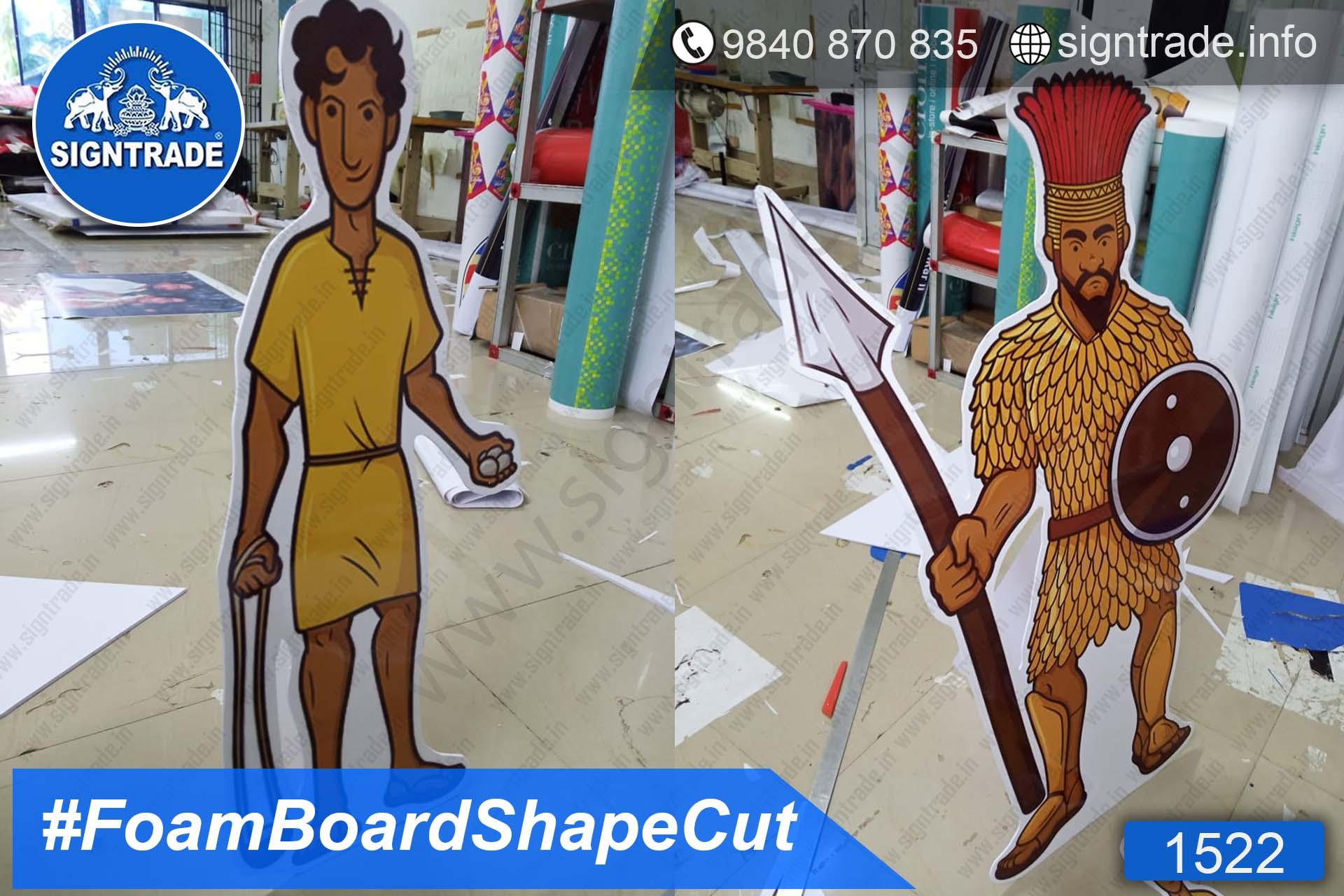 Cute Baby Foam Board CutOut Display - SIGNTRADE - Foam Board CutOut Board Manufacture in Chennai