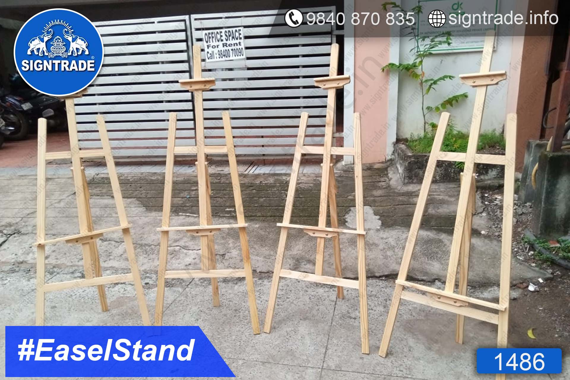 Easel Stand, Chennai - SIGNTRADE - Promotional Easel Stand Manufacturers in Chennai