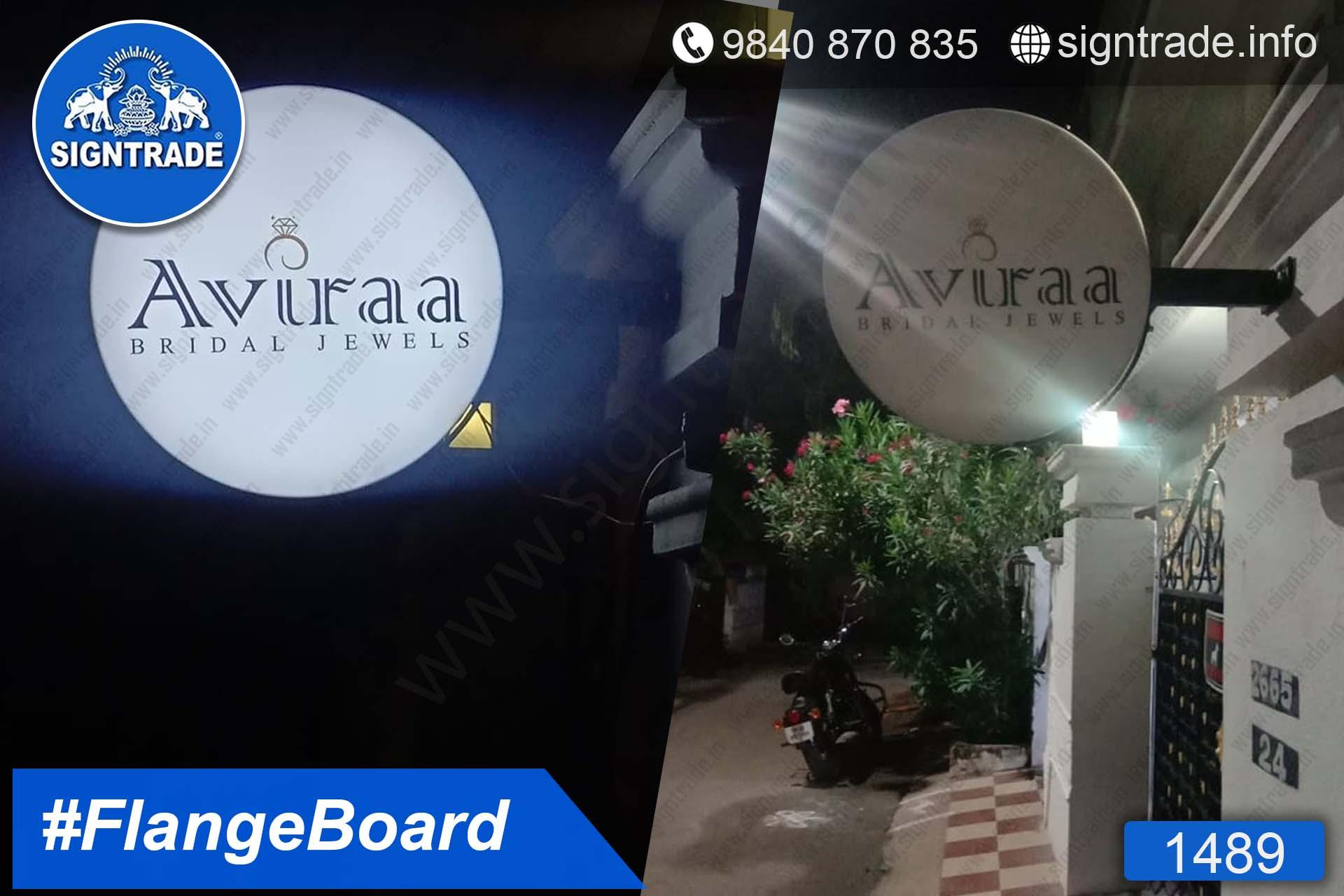 Aviraa Bridal Jewels, Chennai - SIGNTRADE - Lollipop Board, Flange Board Manufacturers in Chennai