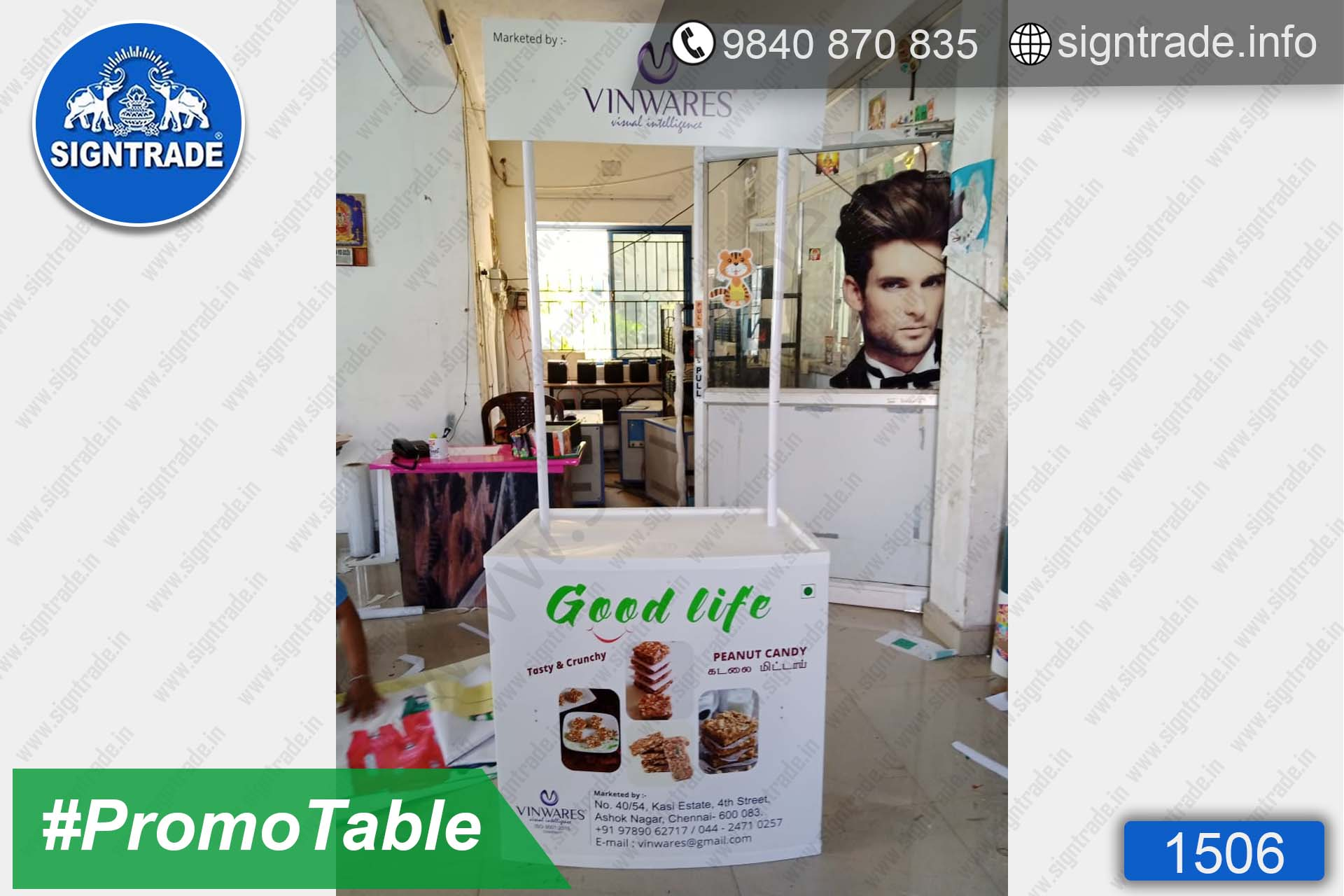 VINWARES Peanut Candy, Ashok Nagar, Chennai - SIGNTRADE - Promotional Table Manufactures in Chennai