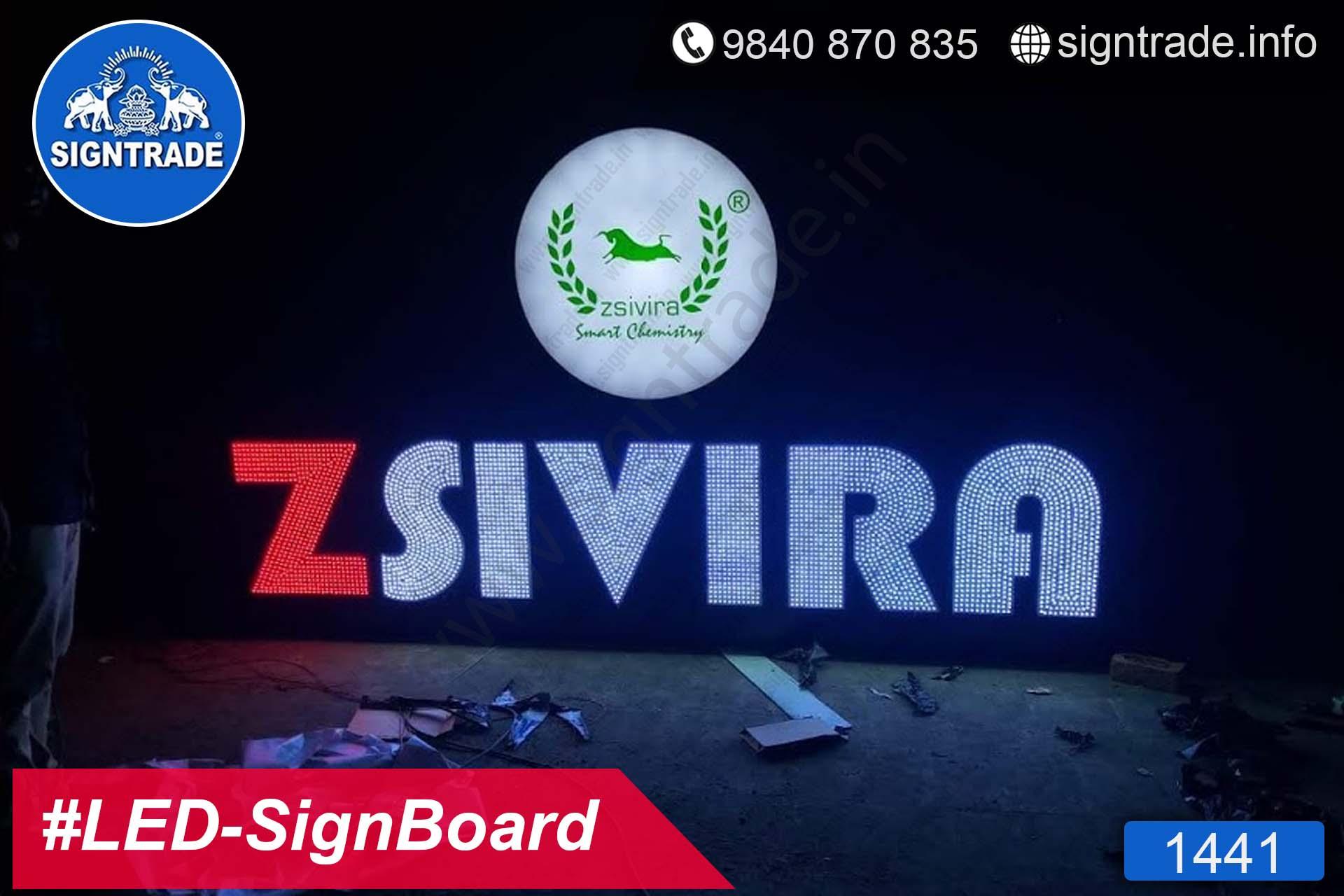 1441, LED Sign Board, Sign Board, Acrylic Sign Board, Glow Sign Board, Custom Sign Board