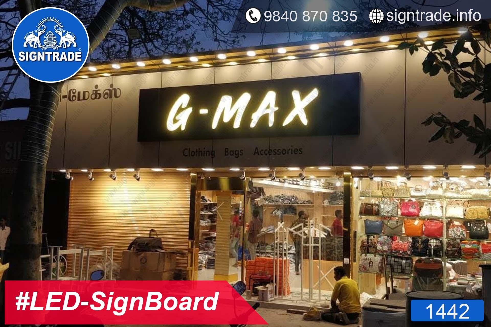 1442, LED Sign Board, Sign Board, Acrylic Sign Board, Glow Sign Board, Custom Sign Board