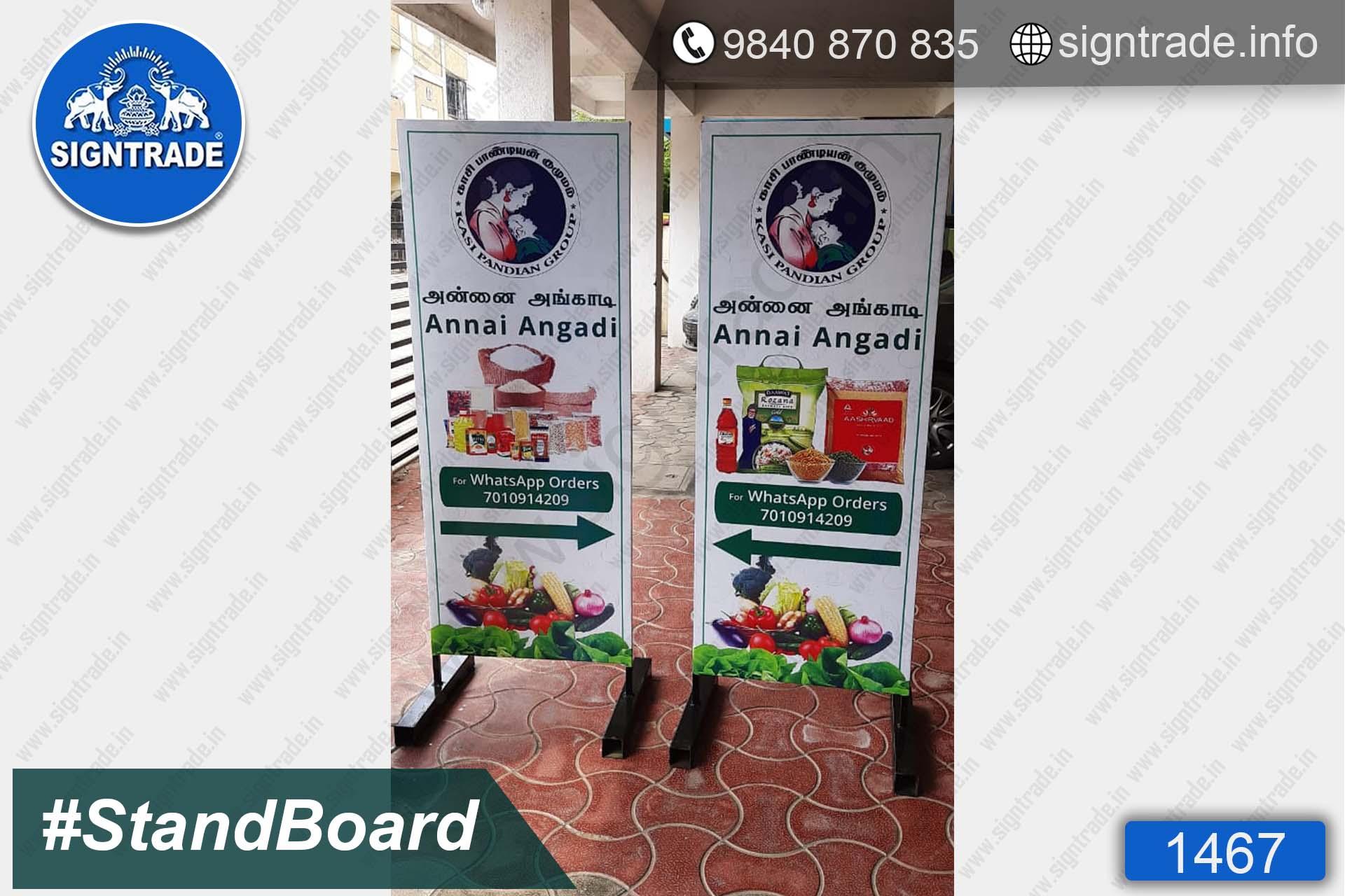 Annai Angadi - stand board- SIGNTRADE