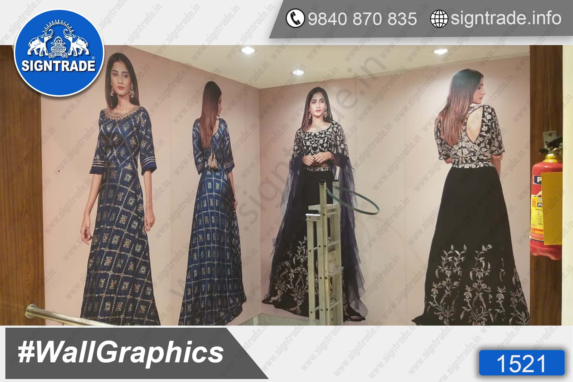 Kay The Fashion Bay, Mount Road, Chennai - SIGNTRADE - Door Graphics, Vinyl Graphics, Vinyl Printing Service in Chennai