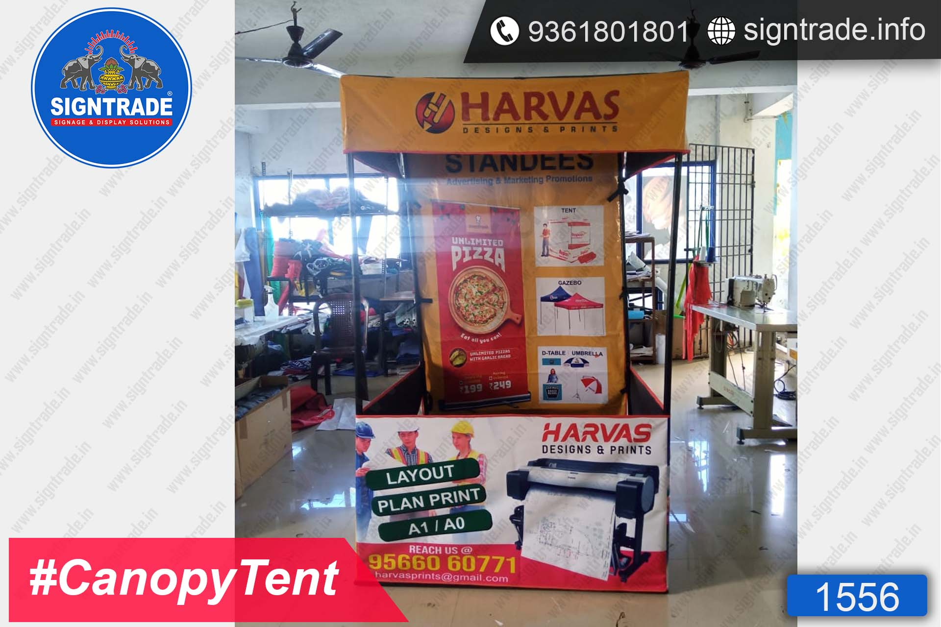 Harvas Designs & Prints - SIGNTRADE - Canopy Tent Manufactures in Chennai