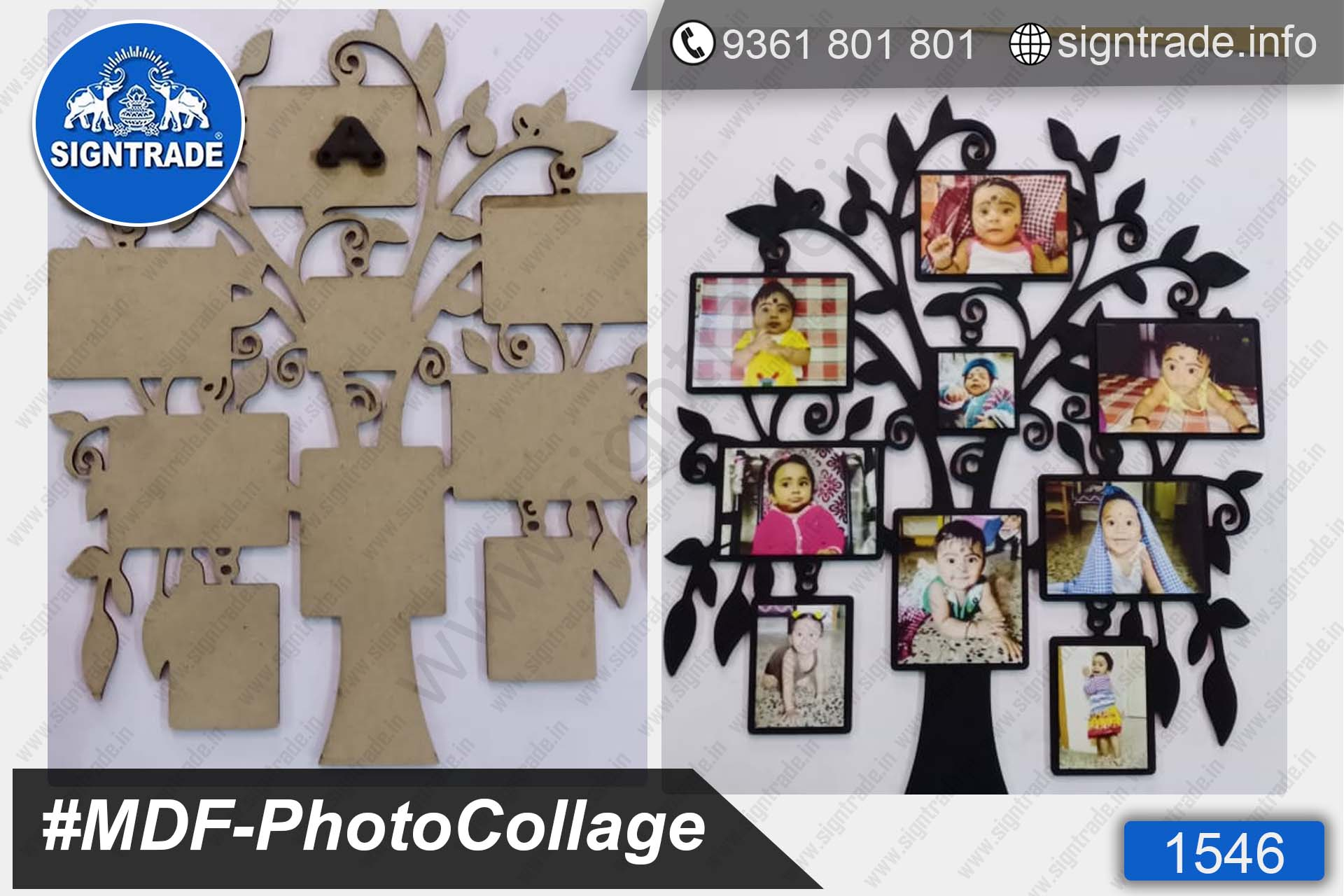 MDF Photo Collage, Photo Frame Manufacturer in Chennai