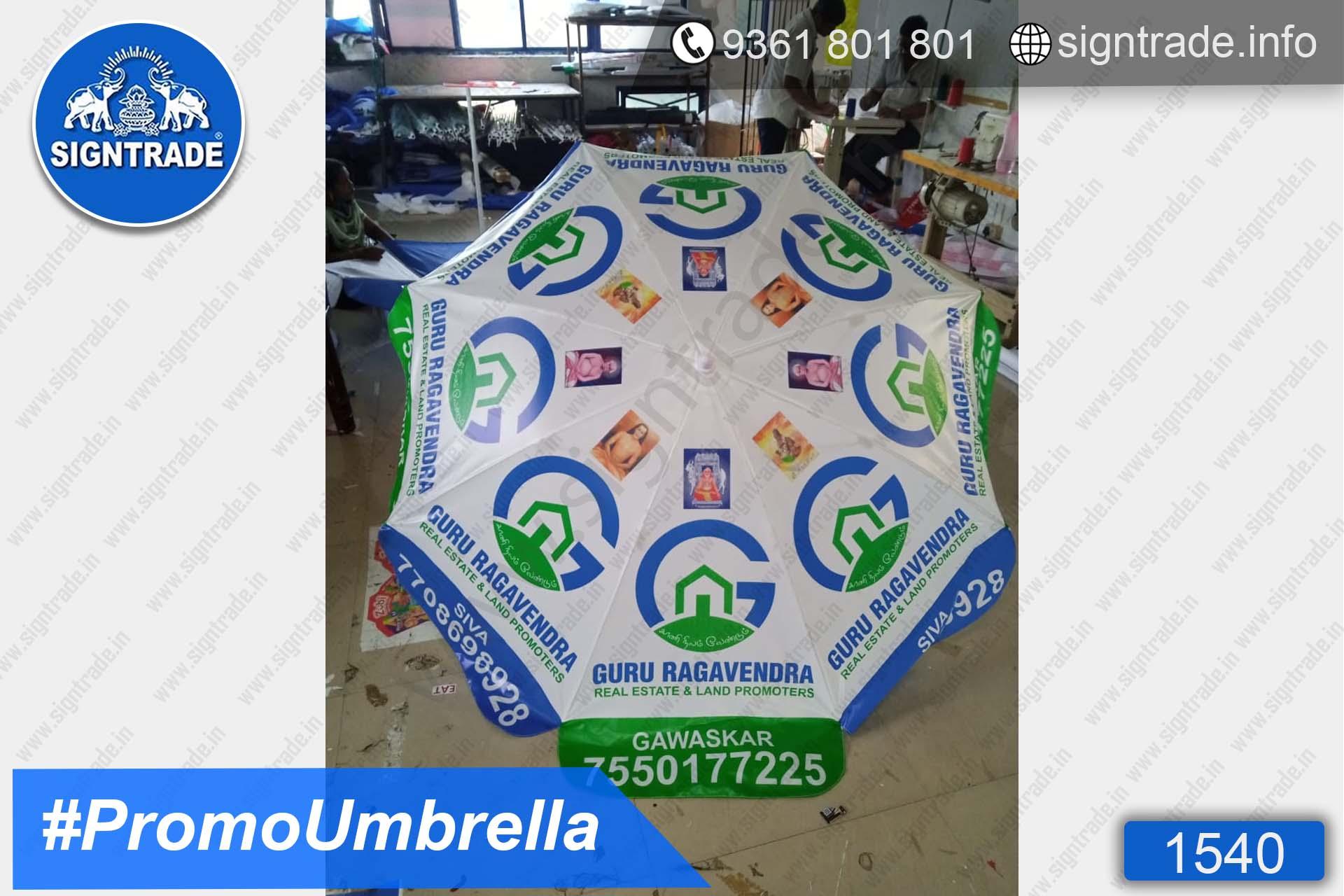 Guru Raghavendra Real Estate, Chennai - SIGNTRADE - Promotional Umbrella Manufactures in Chennai