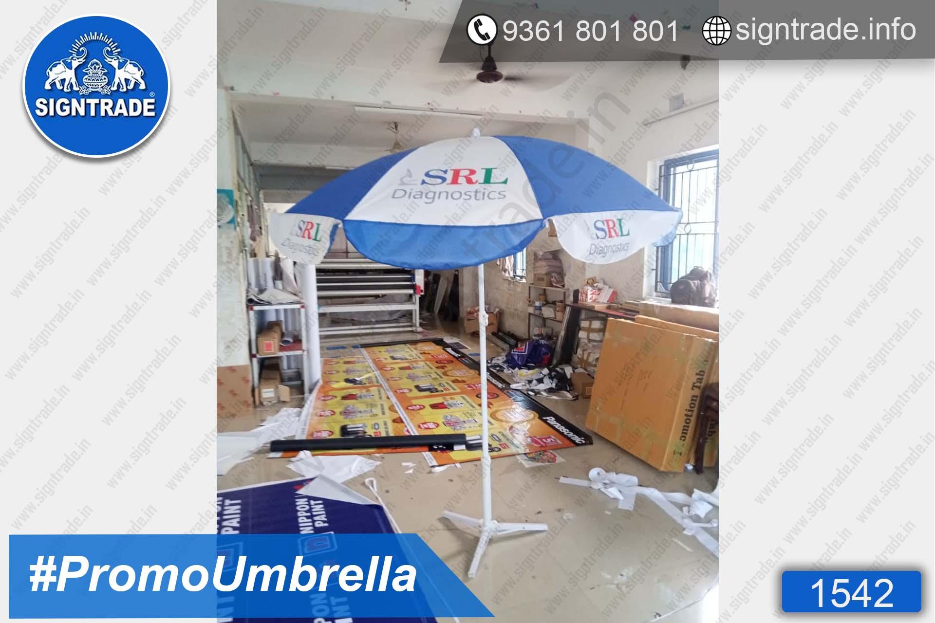 SRL Diagnostics - SIGNTRADE - Promotional Umbrella Manufactures in Chennai