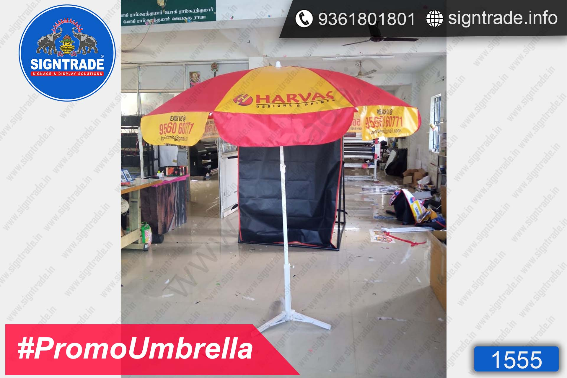 Harvas Designs & Prints - SIGNTRADE - Promotional Umbrella Manufactures in Chennai