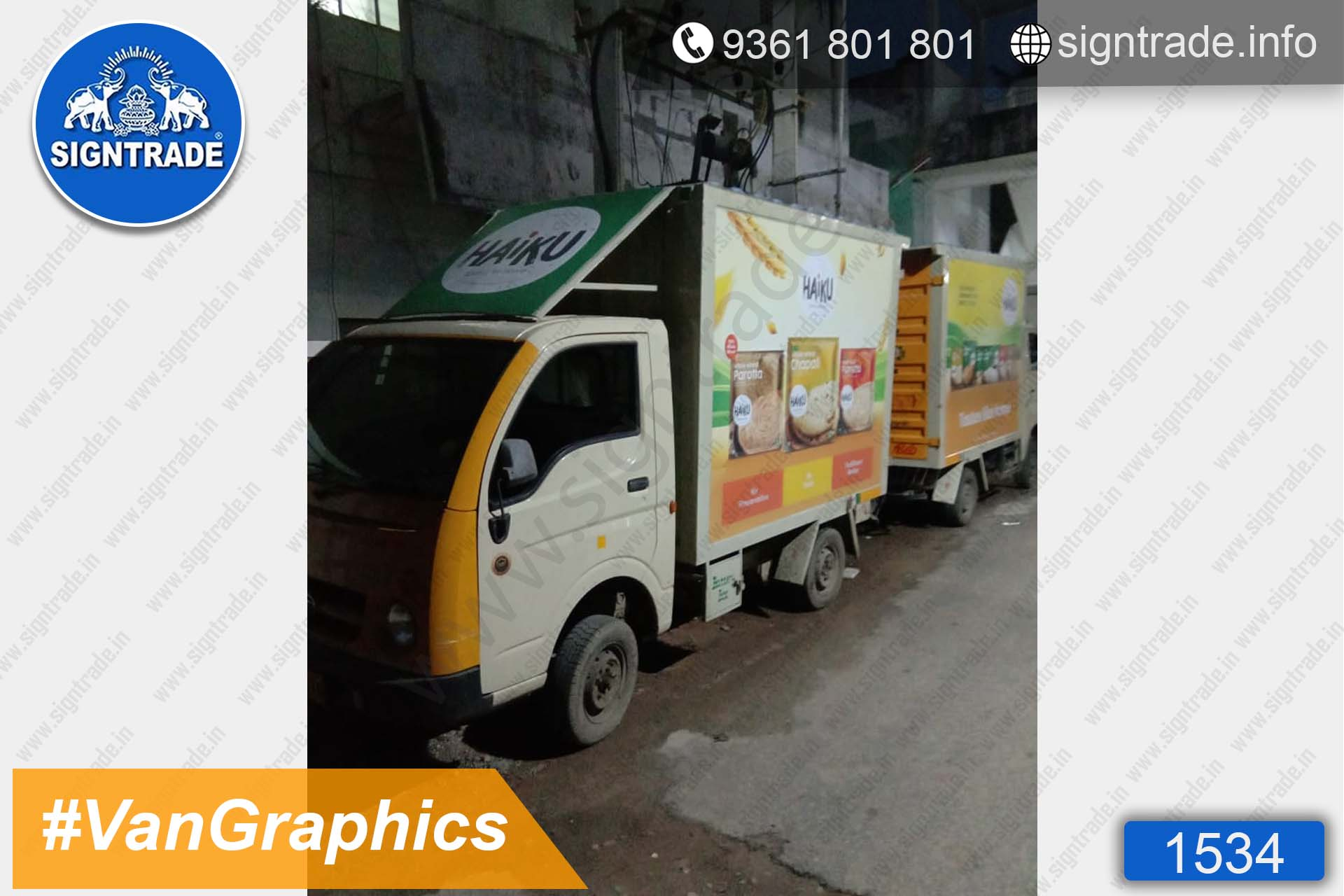 AK Foods, Chennai - SIGNTRADE - Vinyl, Stickers, Van Graphics, Vehicle Graphics and Wraps Service Provider in Chennai