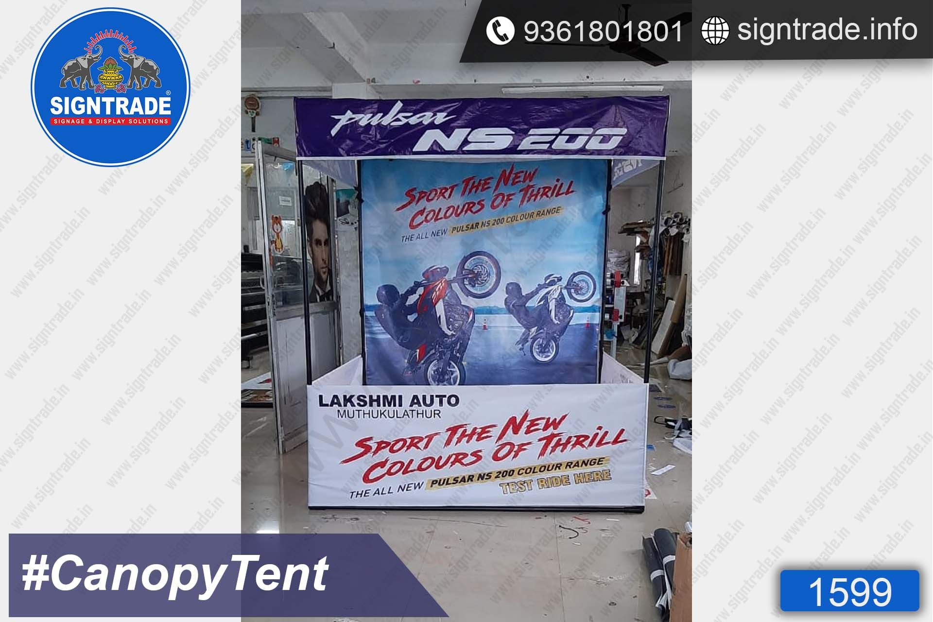 Lakshmi Auto - SIGNTRADE - Canopy Tent Manufactures in Chennai