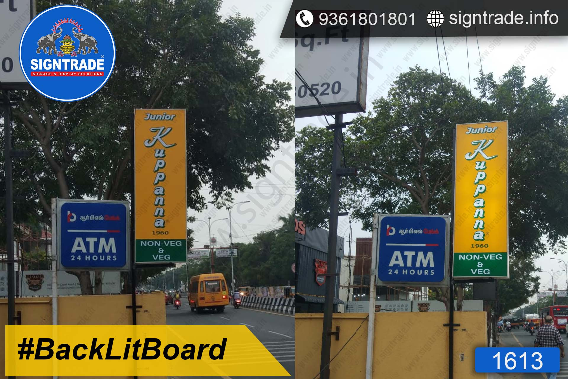 Hotel Junior Kuppanna - SIGNTRADE - Backlit Sticker Board Manufacturers in Chennai