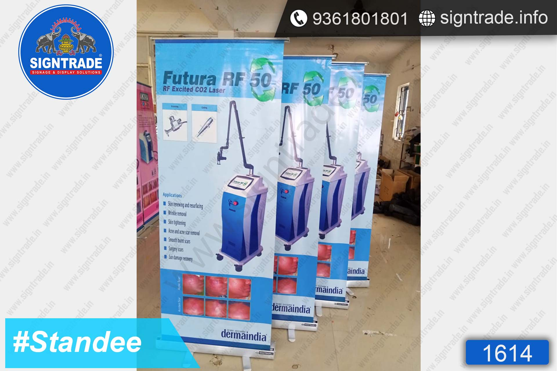 Futura RF 50 - SIGNTRADE - Rollup Banner Stand Manufactures in Chennai