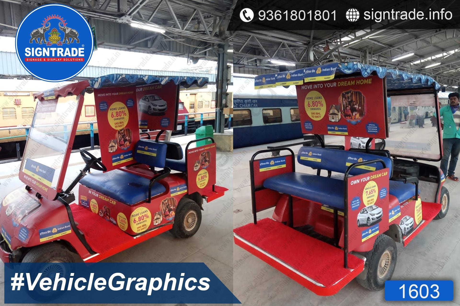 Custom Printed Vehicle Graphics Service in Chennai
