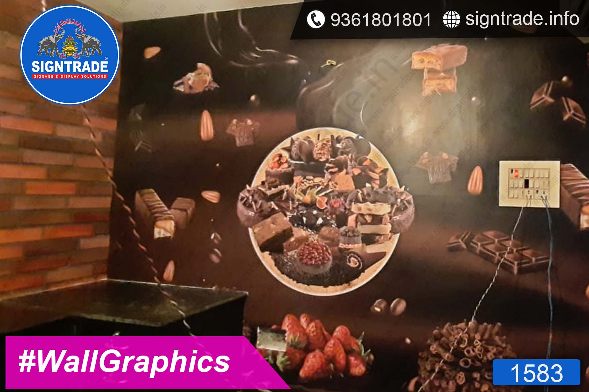 Cakes and Berrys, Santhosapuram, Chennai - SIGNTRADE - Wall Graphics, Vinyl Graphics, Vinyl Printing Service in Chennai