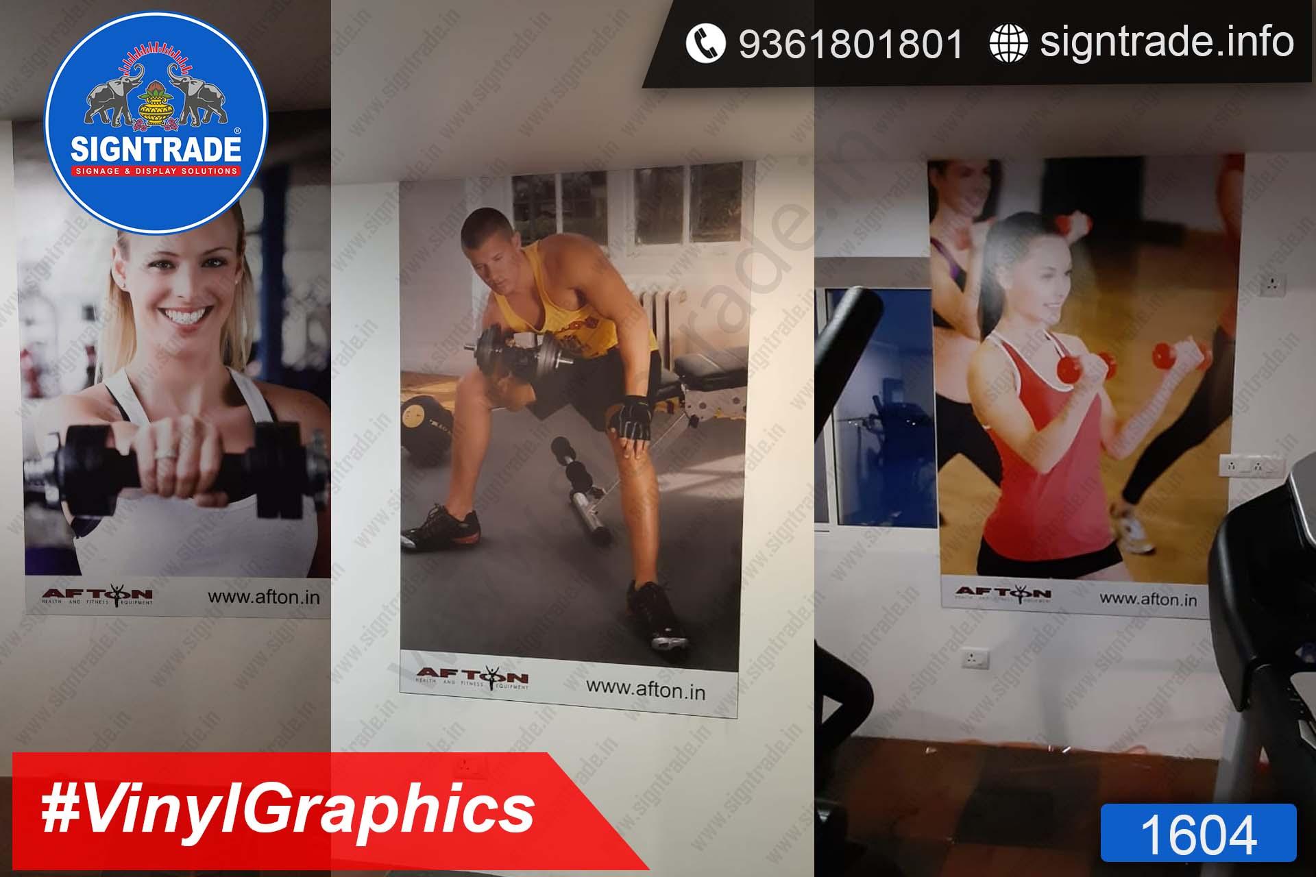 Afton, Kolapakkam, Chennai - SIGNTRADE - Wall Graphics, Vinyl Graphics, Vinyl Printing Service in Chennai