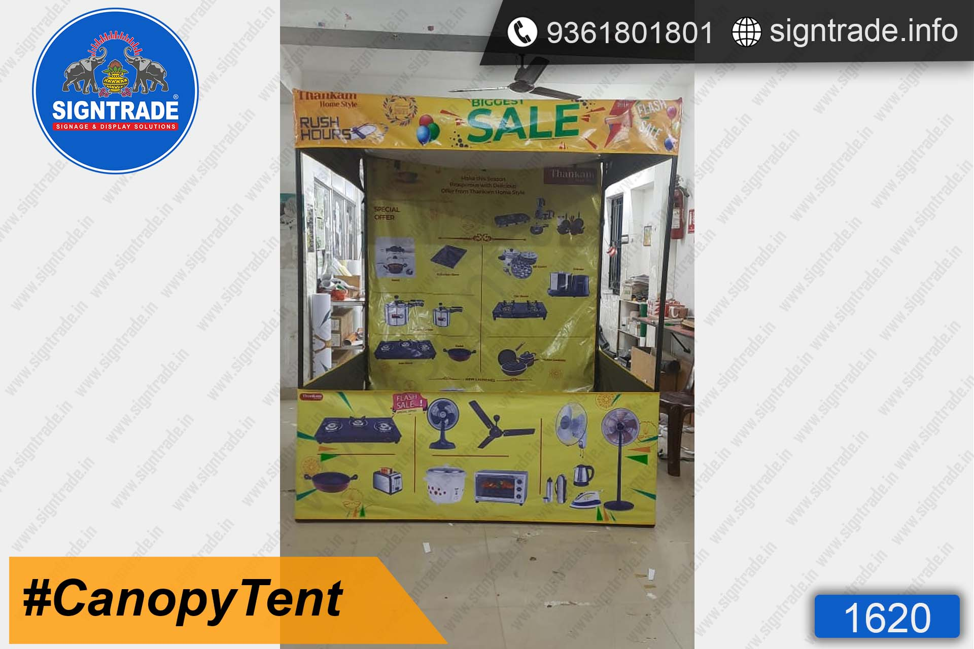 Thankam Home Style - Canopy Tent - SIGNTRADE - Promotional Canopy Tent Manufacturers in Chennai