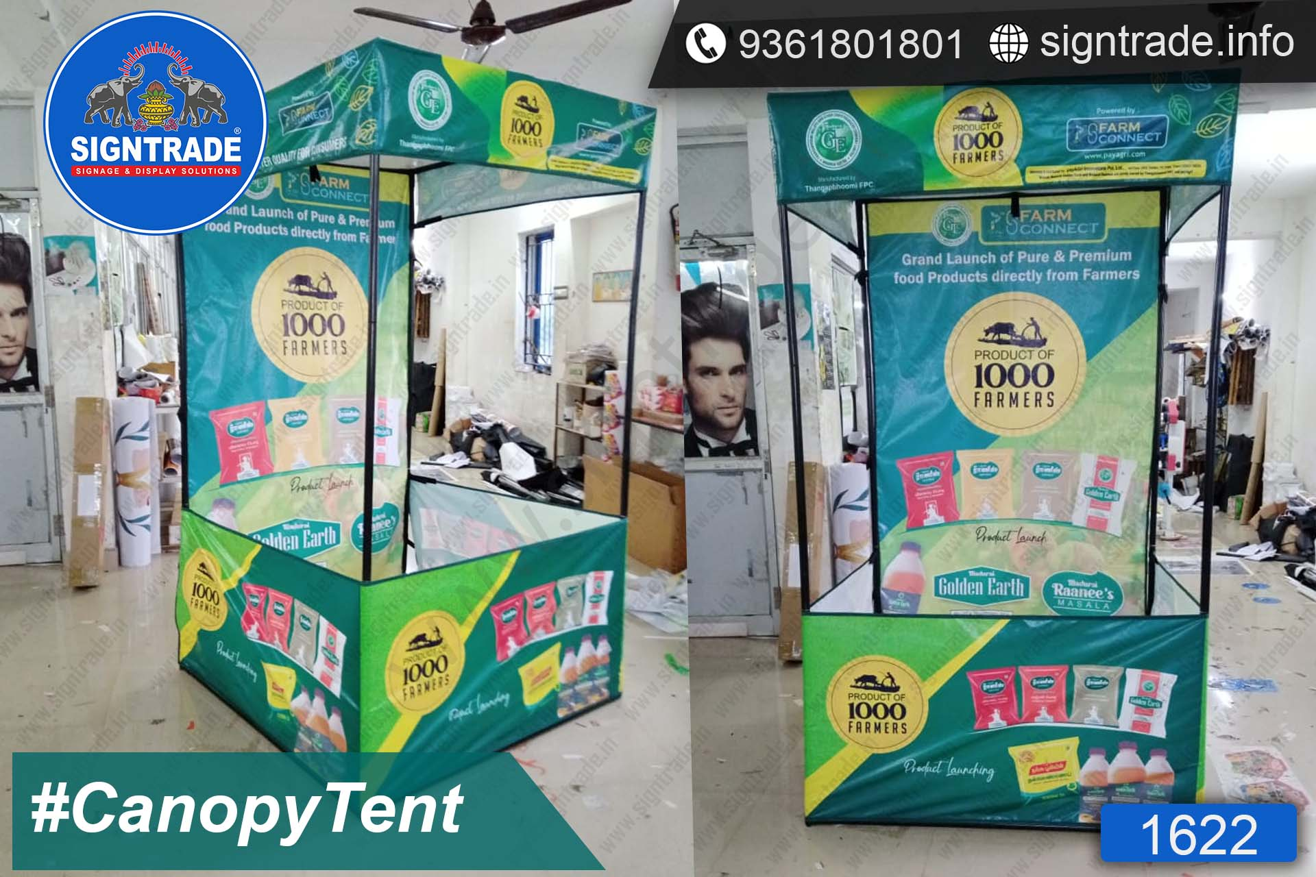 Farm Connect - Canopy Tent - SIGNTRADE - Promotional Canopy Tent Manufacturers in Chennai