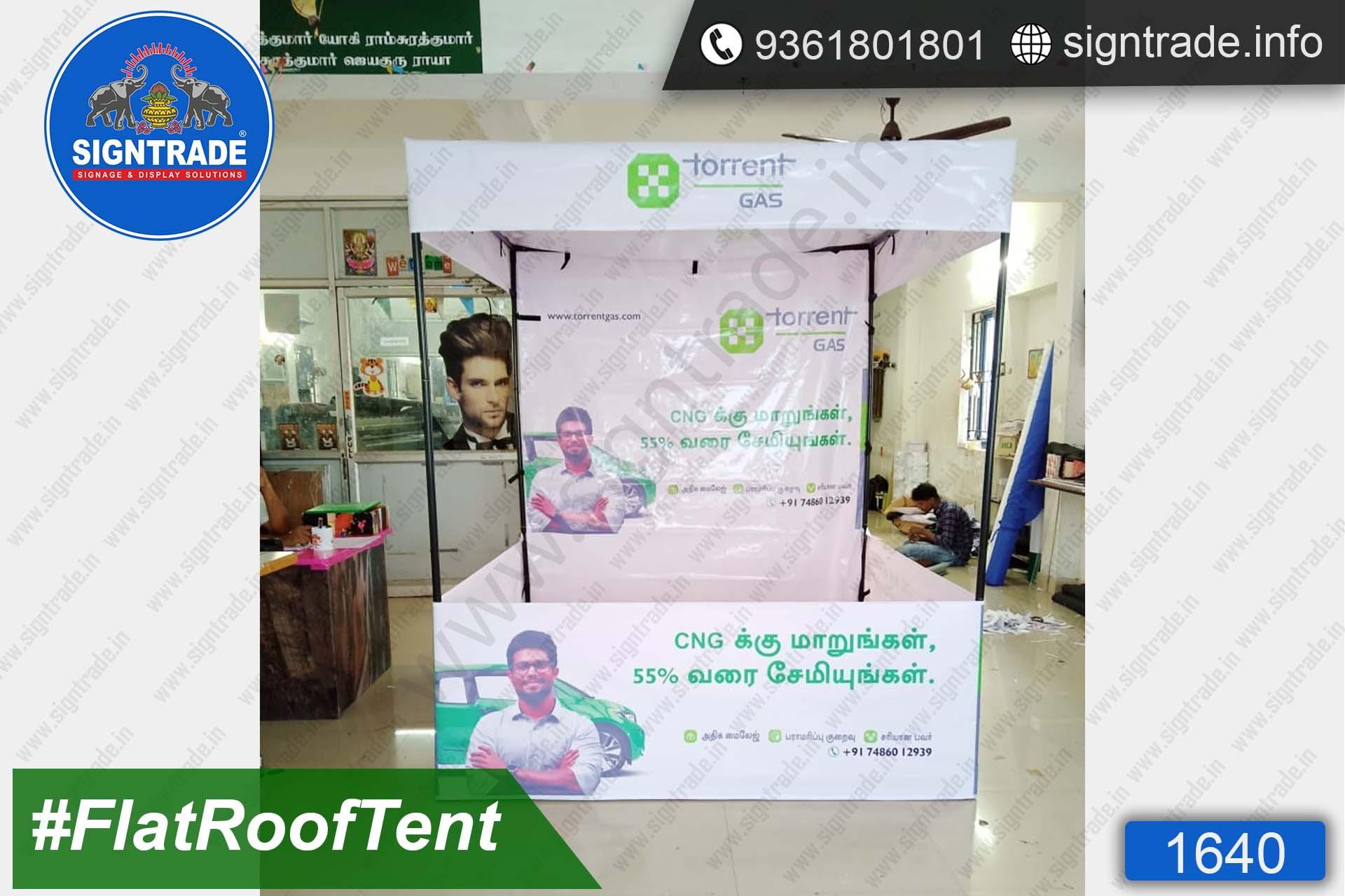 Torrent Gas- Canopy Tent - SIGNTRADE - Promotional Canopy Tent Manufacturers in Chennai