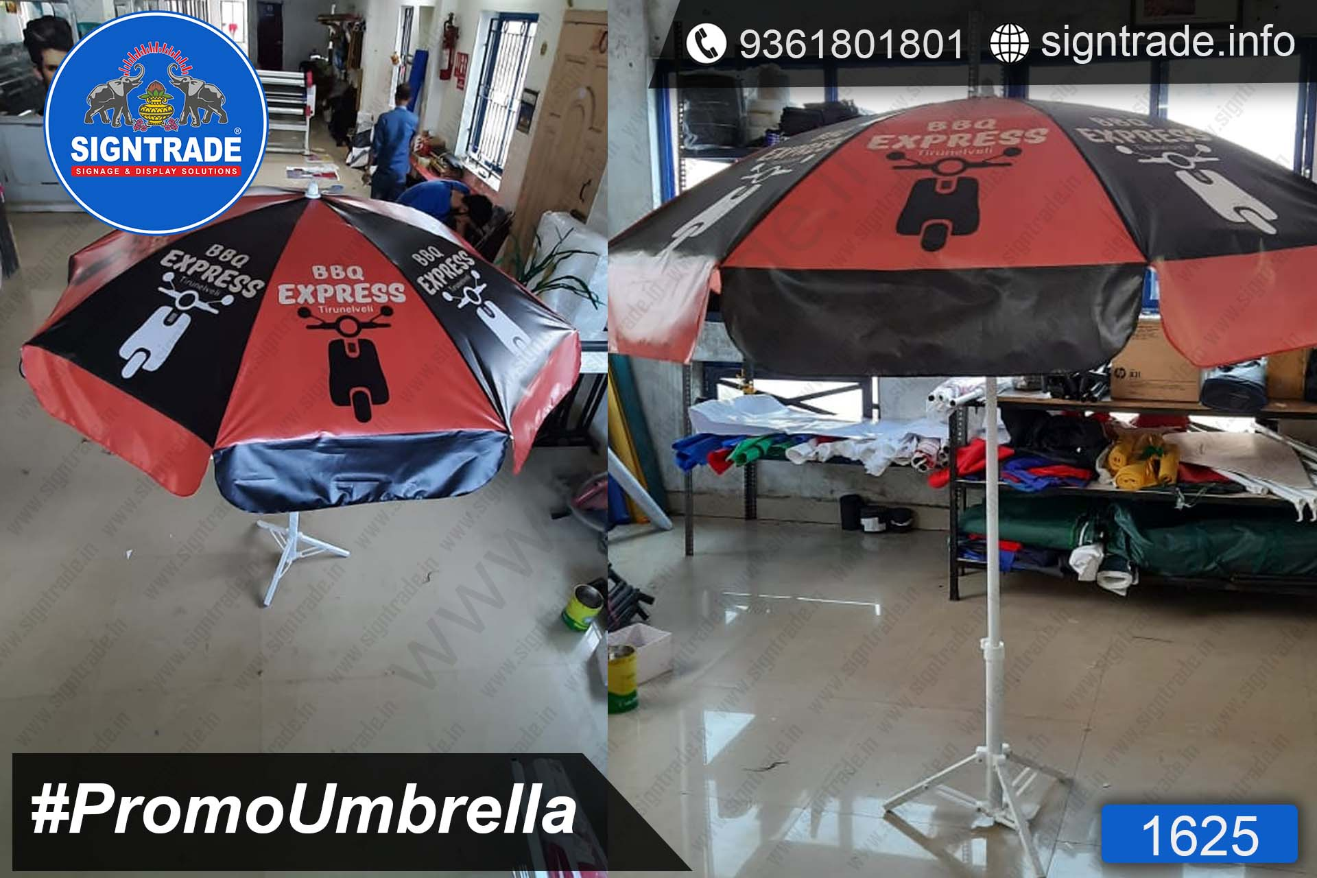 BBQ Express, Chennai - SIGNTRADE - Promotional Umbrella Manufactures in Chennai
