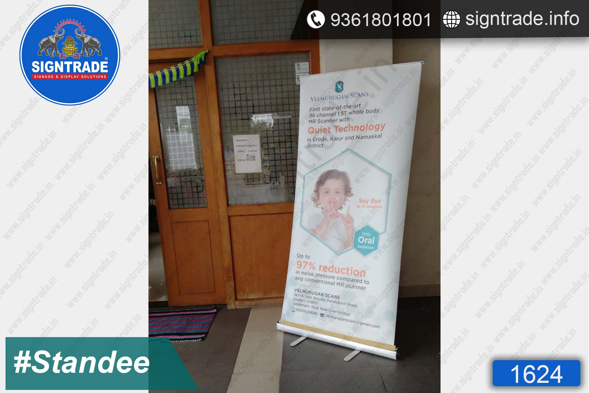 Quiet Technology - Rollup Banner Stand - SIGNTRADE - Rollup Banner Stand Manufactures in Chennai