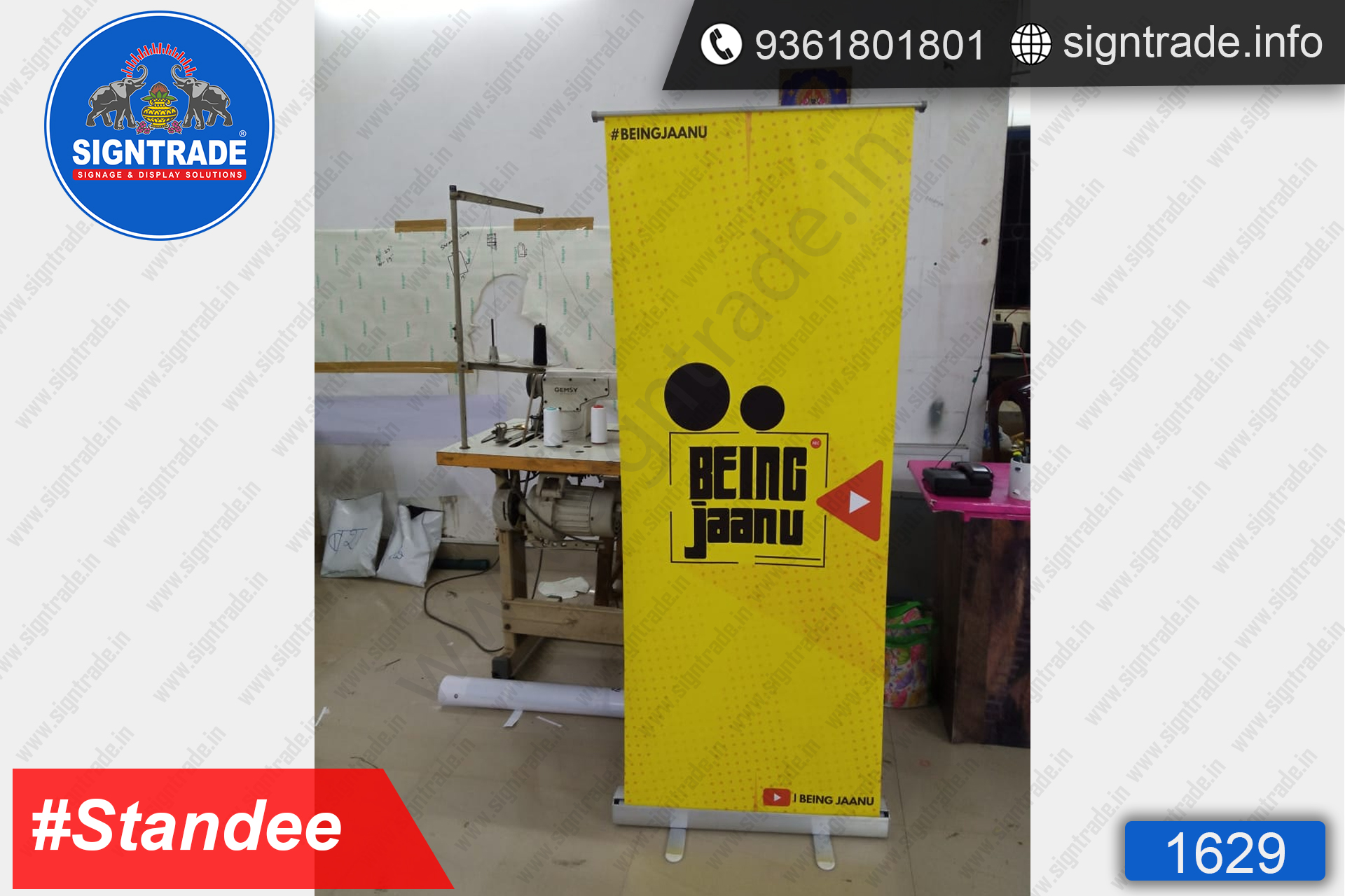 Being Jaanu - Rollup Banner Stand - SIGNTRADE - Rollup Banner Stand Manufactures in Chennai