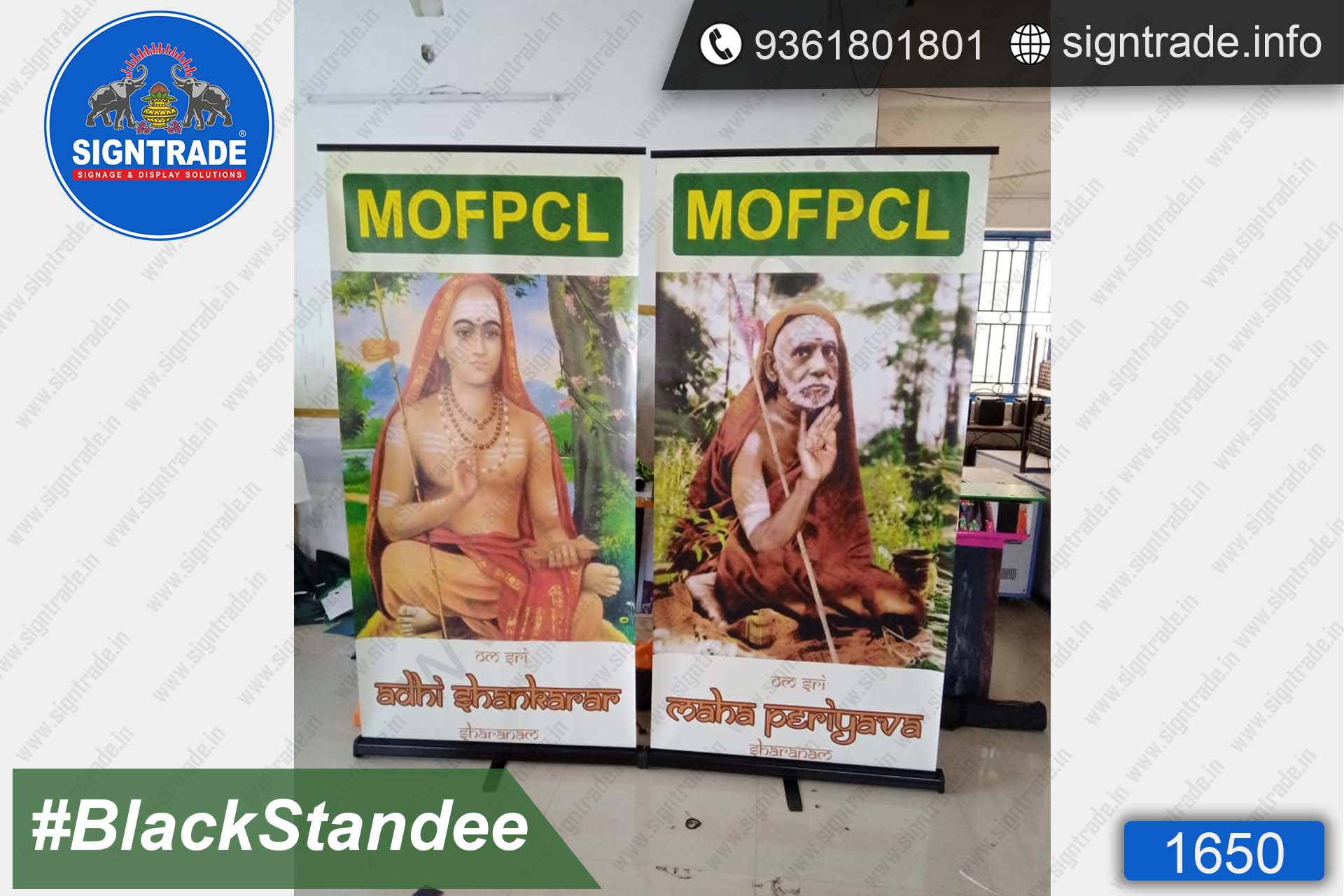 MOFPCL - Rollup Banner Stand - SIGNTRADE - Rollup Banner Stand Manufactures in Chennai