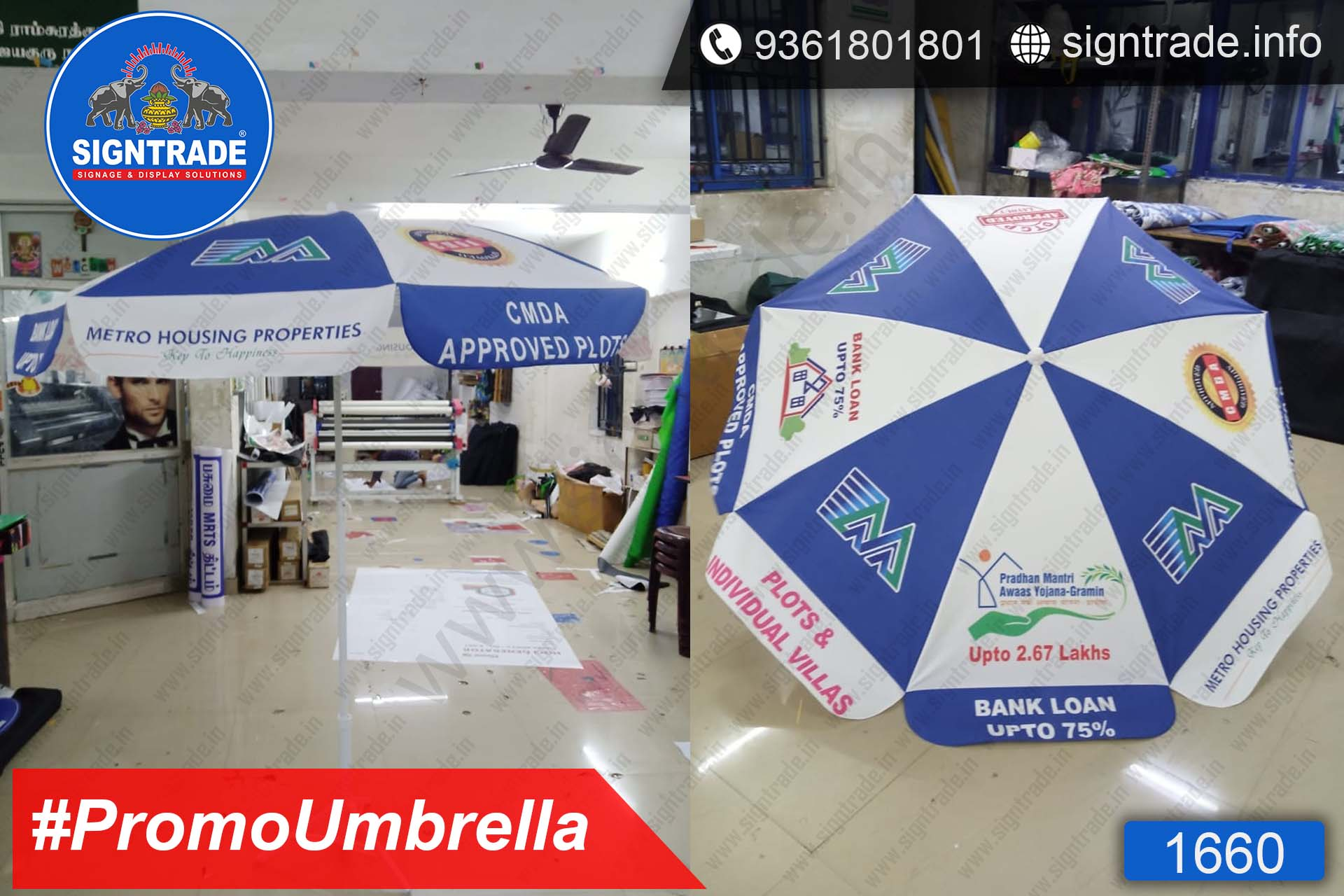 Metro Housing Properties, Chennai - SIGNTRADE - Promotional Umbrella Manufactures in Chennai