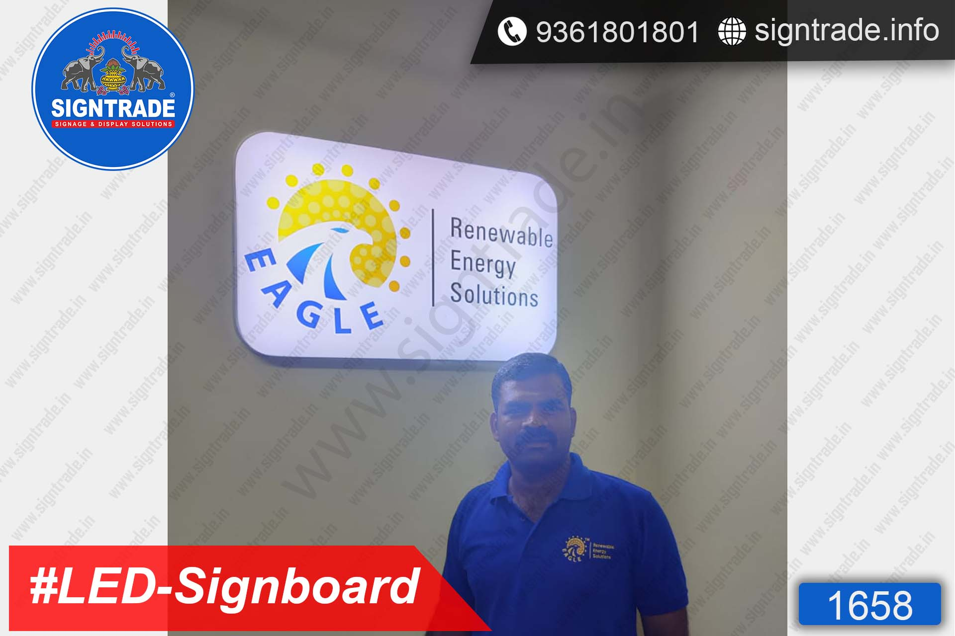 Renewable Energy Solutions, Chennai - SIGNTRADE - LED Sign Board Manufacturers in Chennai