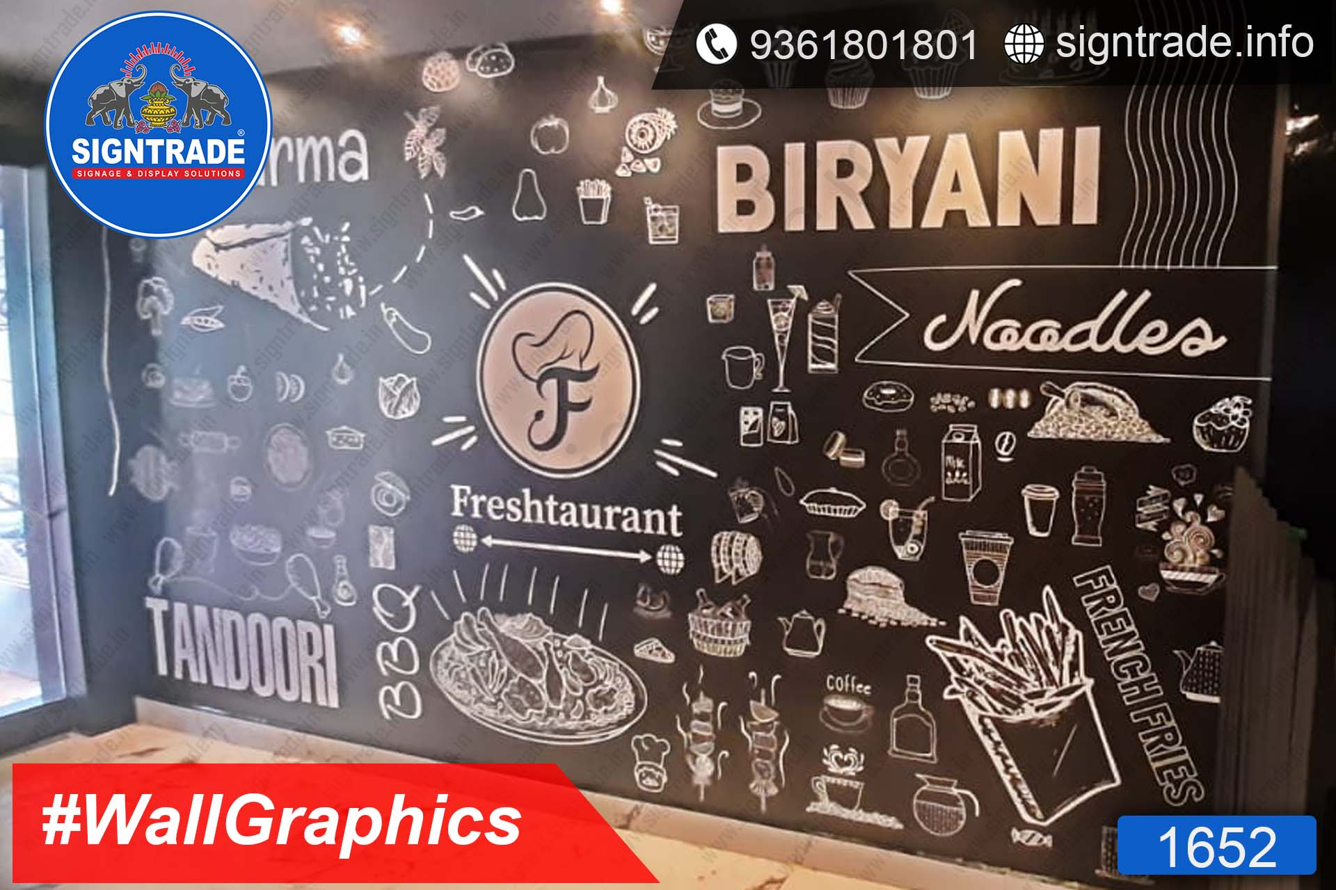Fresh torrent, Mugappair, Chennai - SIGNTRADE - Wall Graphics, Vinyl Printing, Digital Printing Service in Chennai
