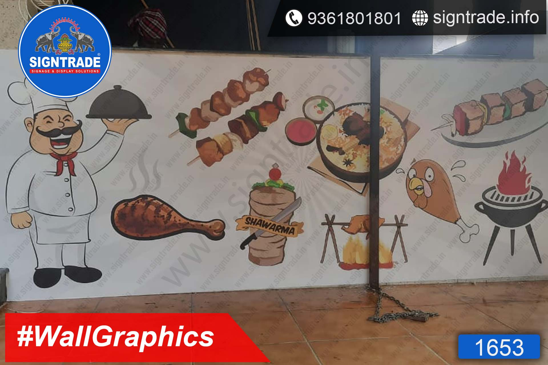 Fresh torrent, Mugappair, Chennai - SIGNTRADE - Wall Graphics, Vinyl Printing, Digital Printing Service in Chennai