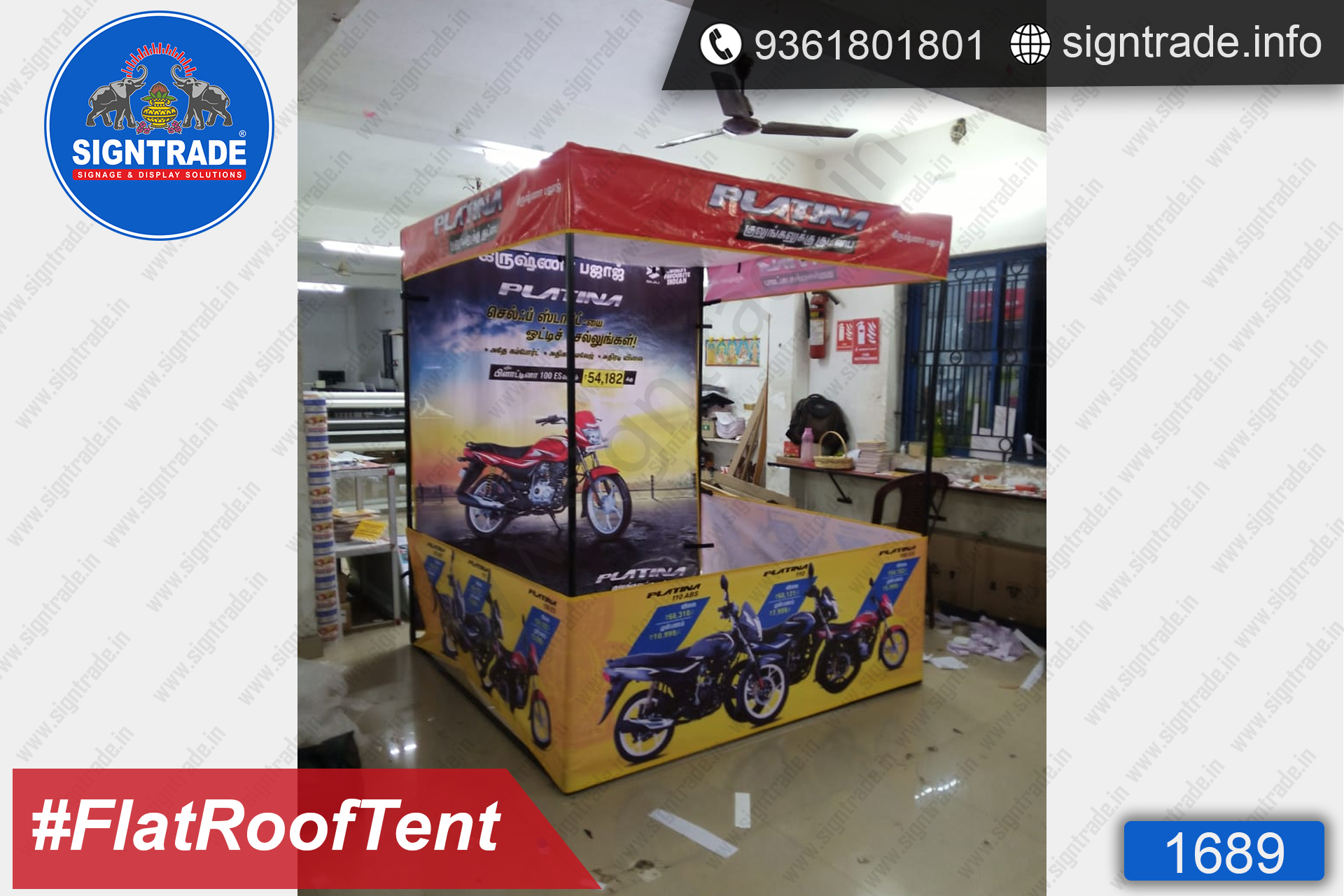 Krishna Bajaj - Canopy Tent - SIGNTRADE - Promotional Canopy Tent Manufacturers in Chennai