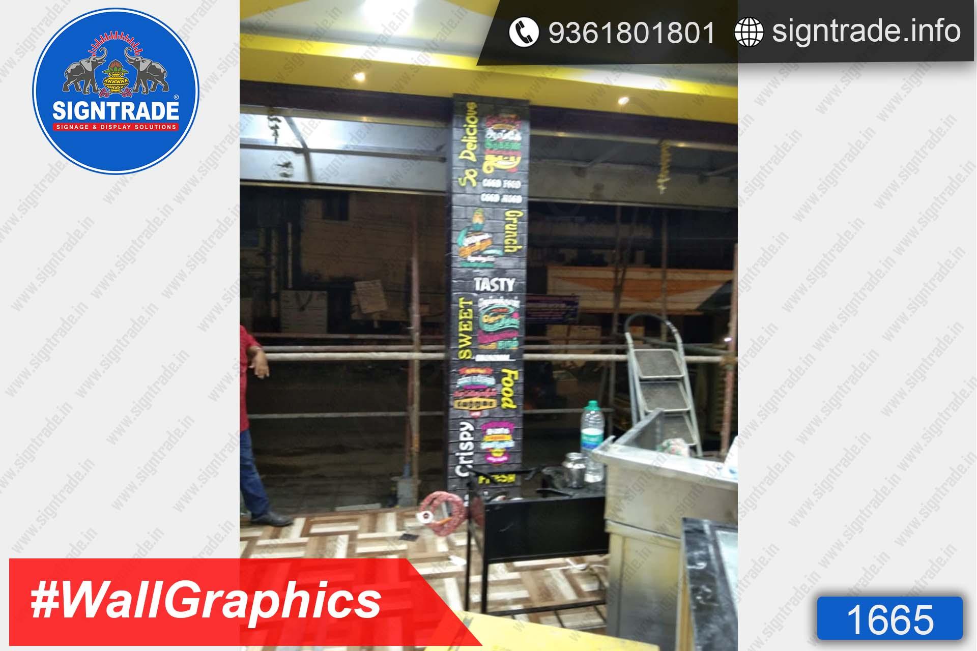 Shop Interior Vinyl Graphics