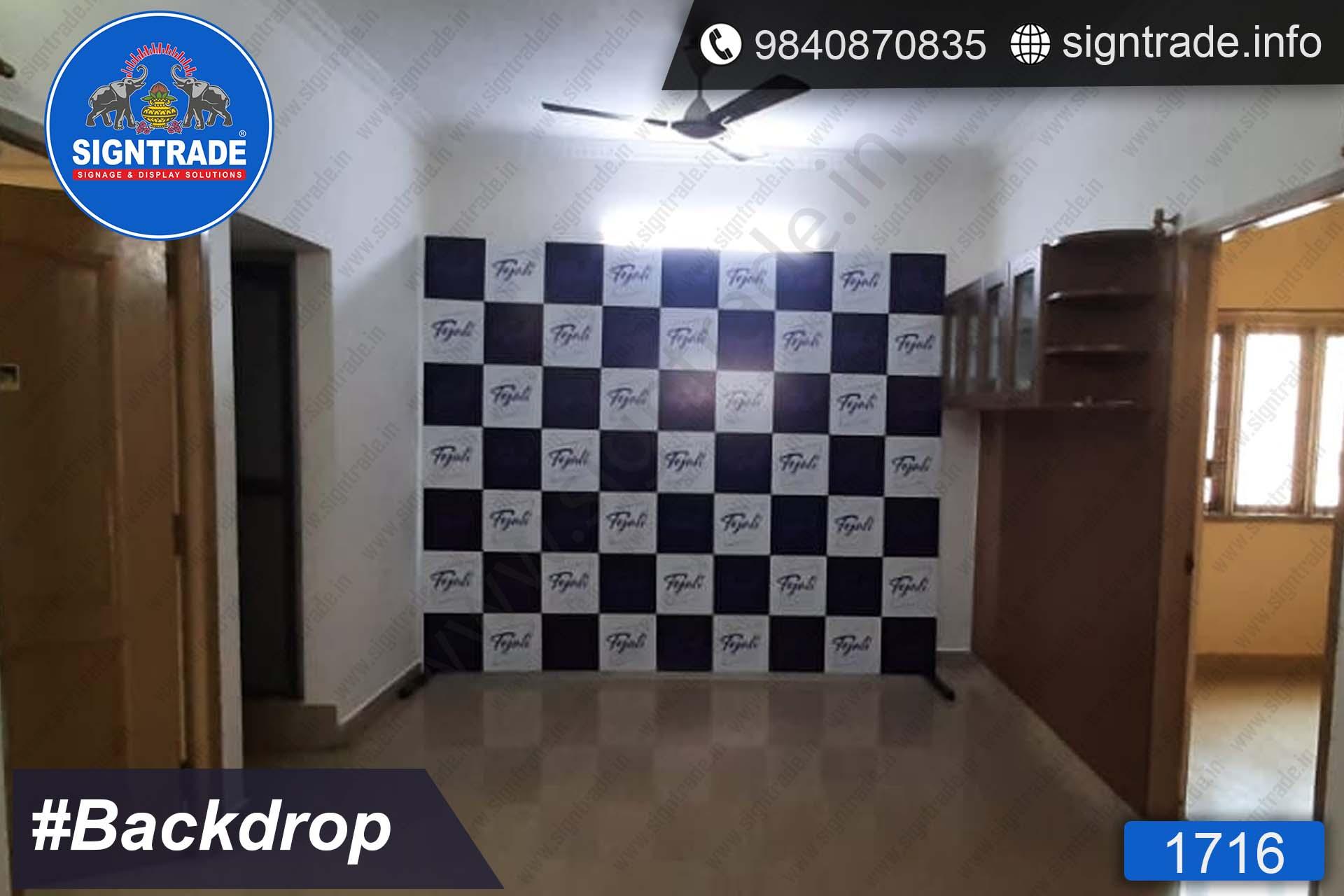 Tejali, Chennai - Backdrop - SIGNTRADE - Backdrop Manufactures in Chennai