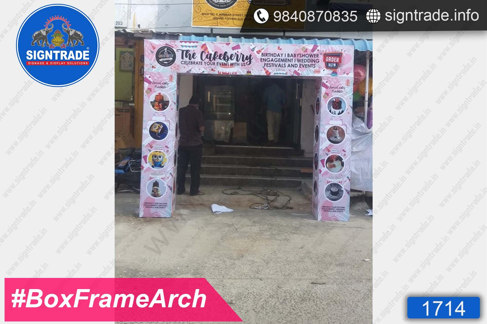 Box Frame Arch, Chennai - SIGNTRADE - Box Frame Entrance Arch Manufacturers in Chennai