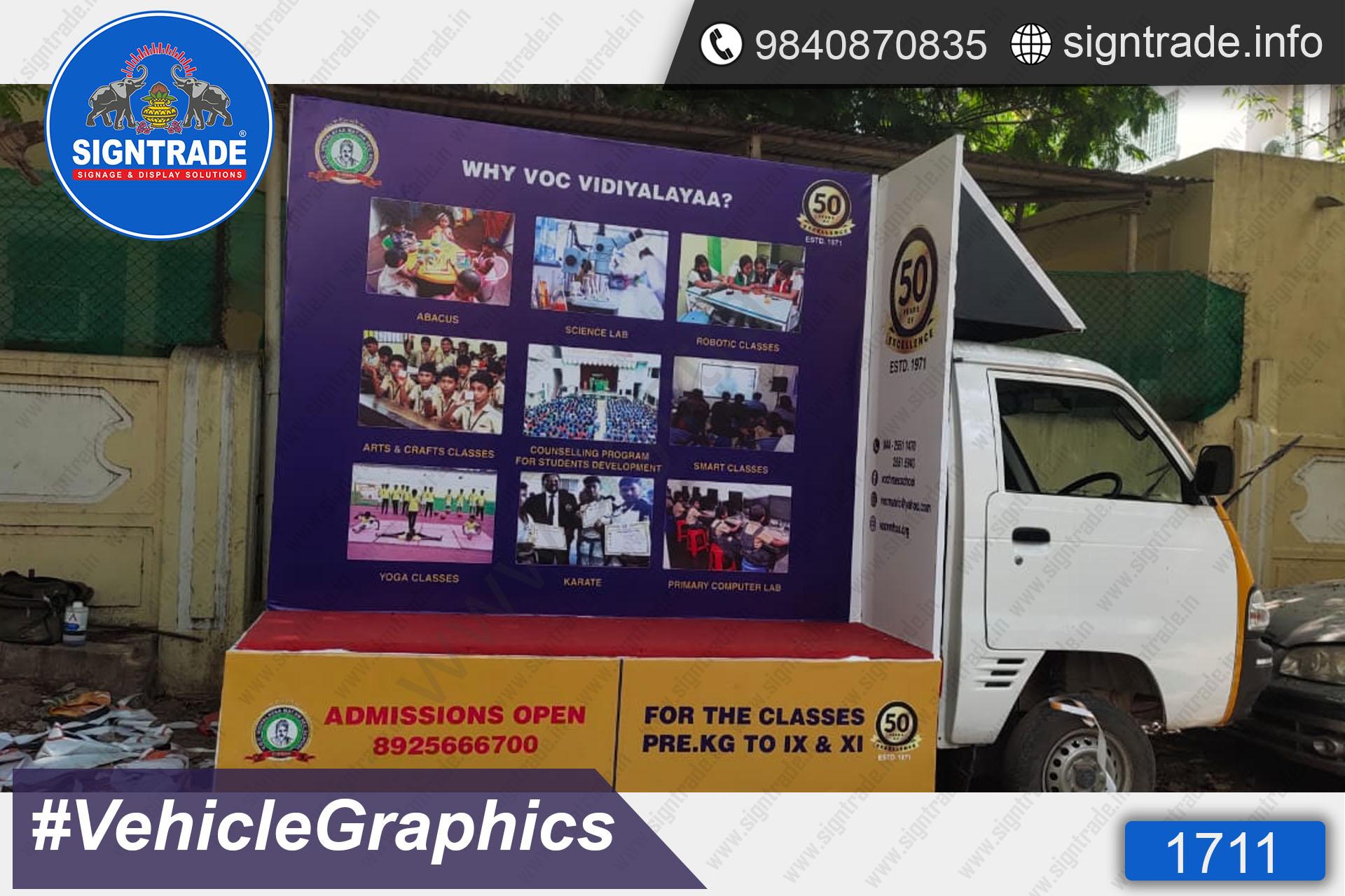 Voc Vidiyalayaa School, Chennai - SIGNTRADE - Vinyl Printing, Vehicle Graphics Service in Chennai